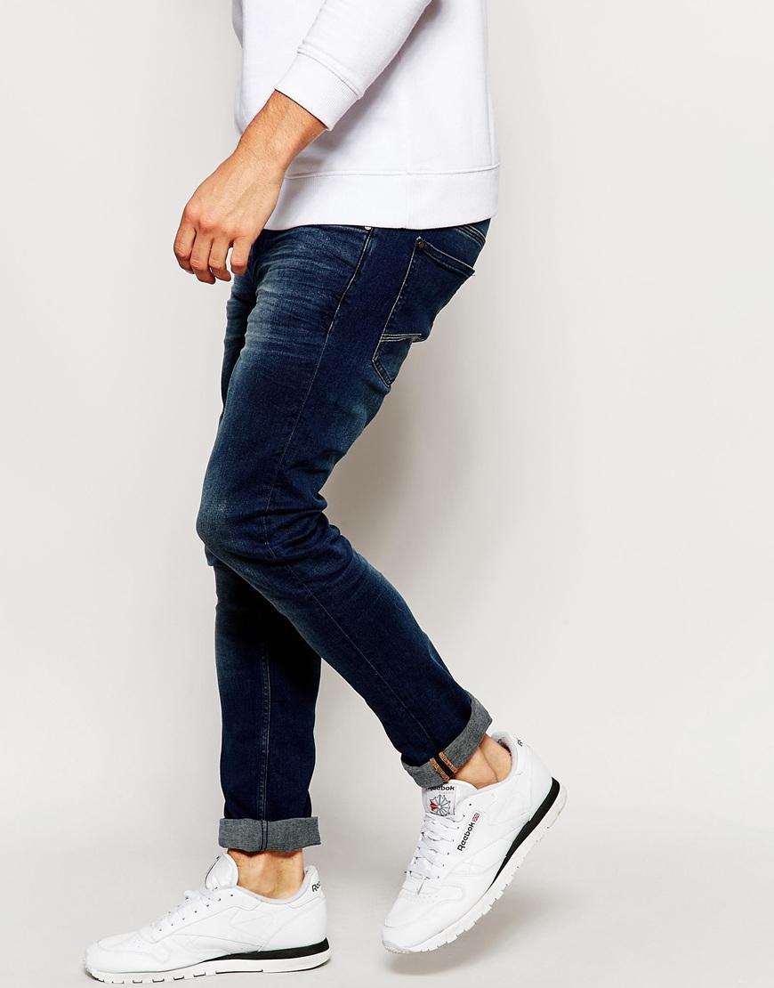 Cirrus Skinny Jeans Dark Wash - Dark wash Blend HAHx15X3ih