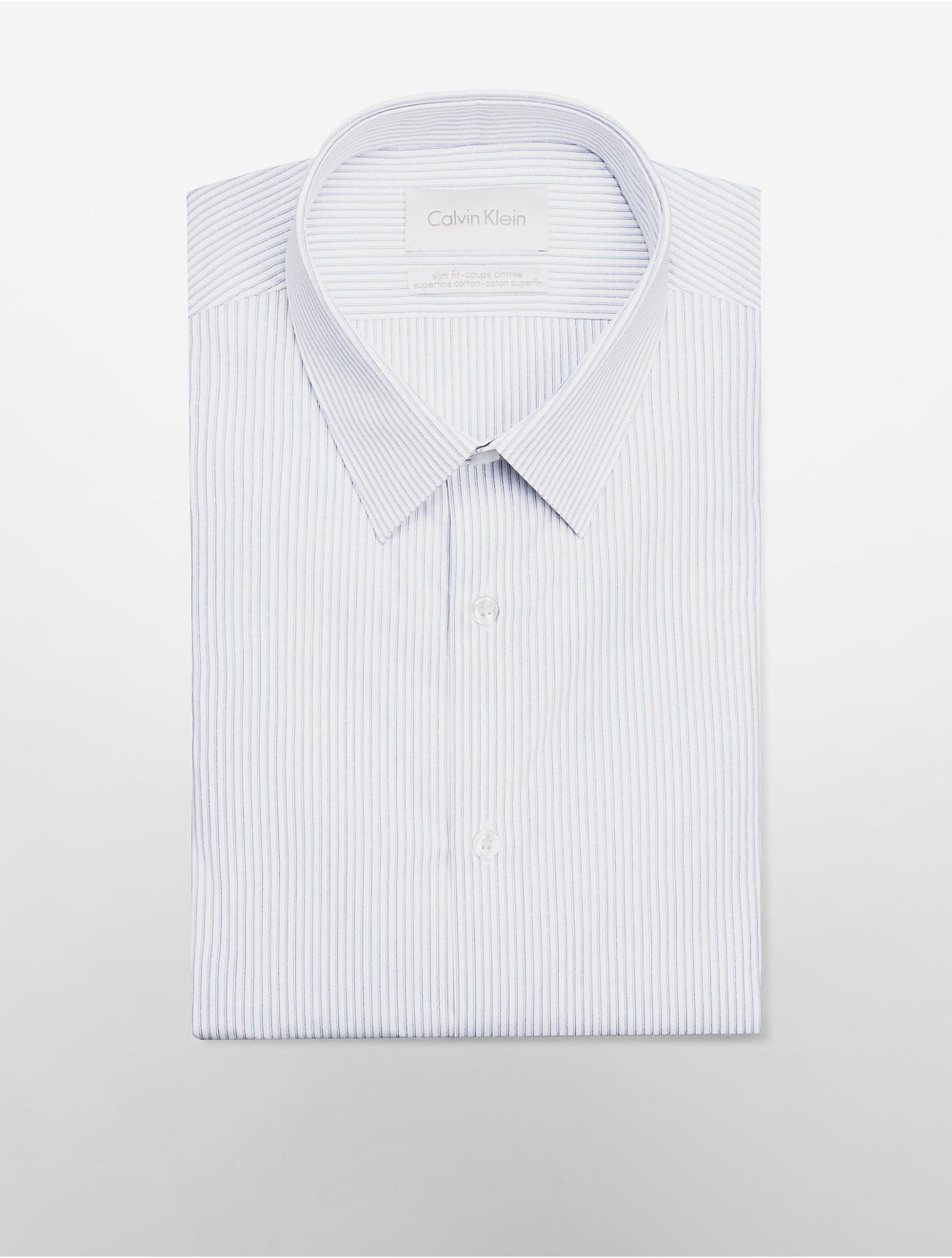 Mens white herringbone dress shirt