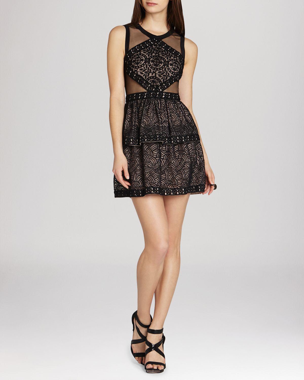 Lyst - Bcbgmaxazria Dress - Jocelyn in Black