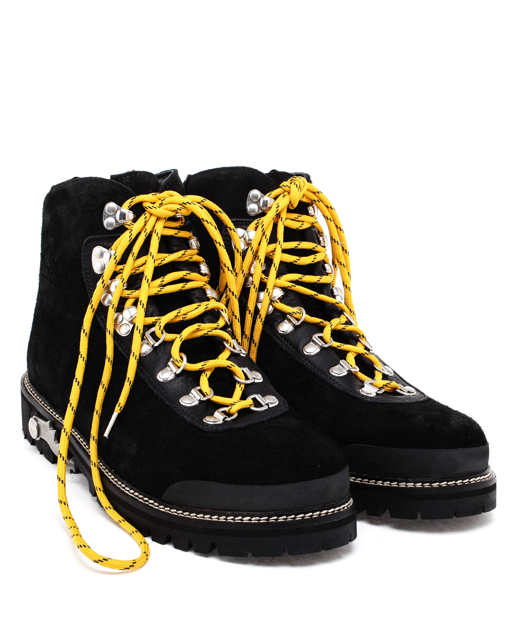 2070746f9c3 Off-White c/o Virgil Abloh Black Suede Hiking Boots