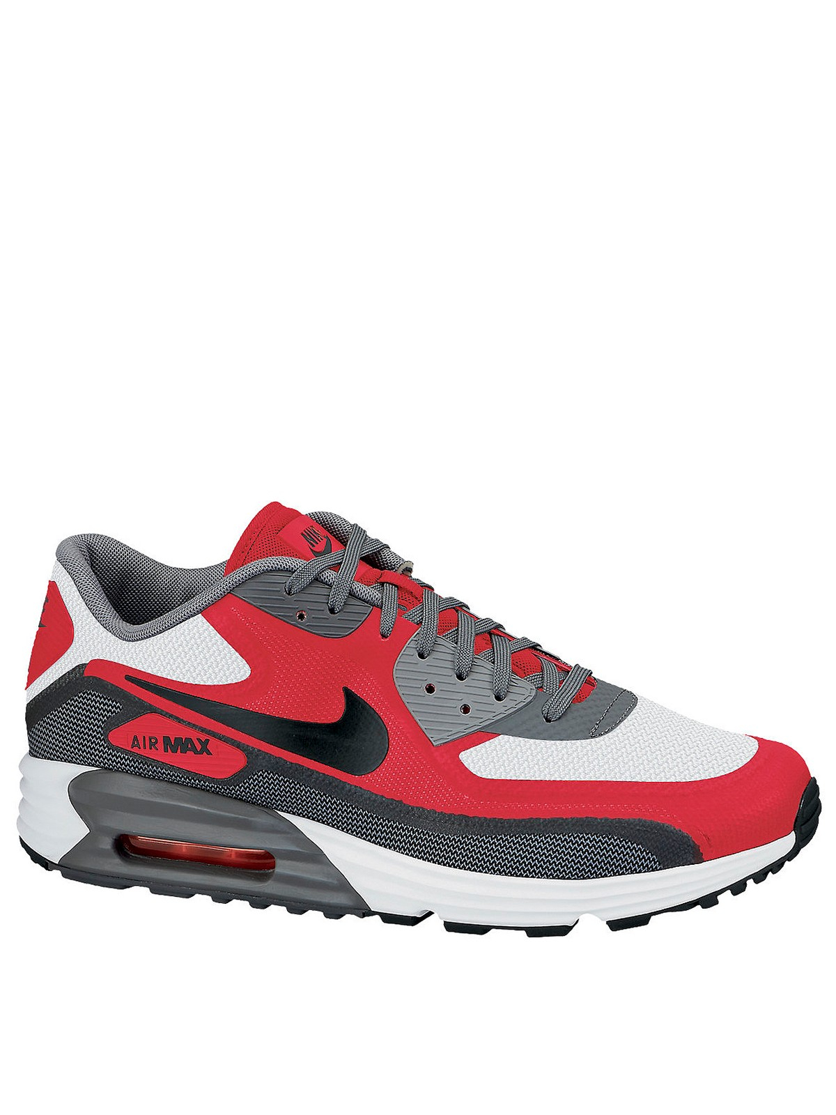 nike air max 90 lunar c30 mens trainers in red for men. Black Bedroom Furniture Sets. Home Design Ideas