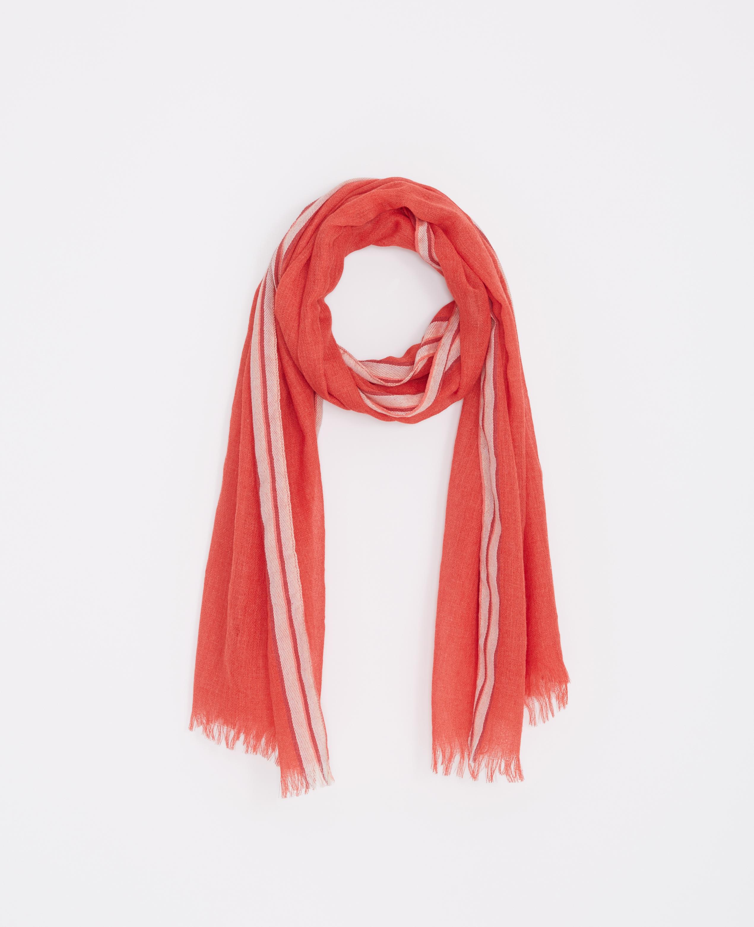Lyst Ann Taylor Equestrian Blanket Scarf In Red