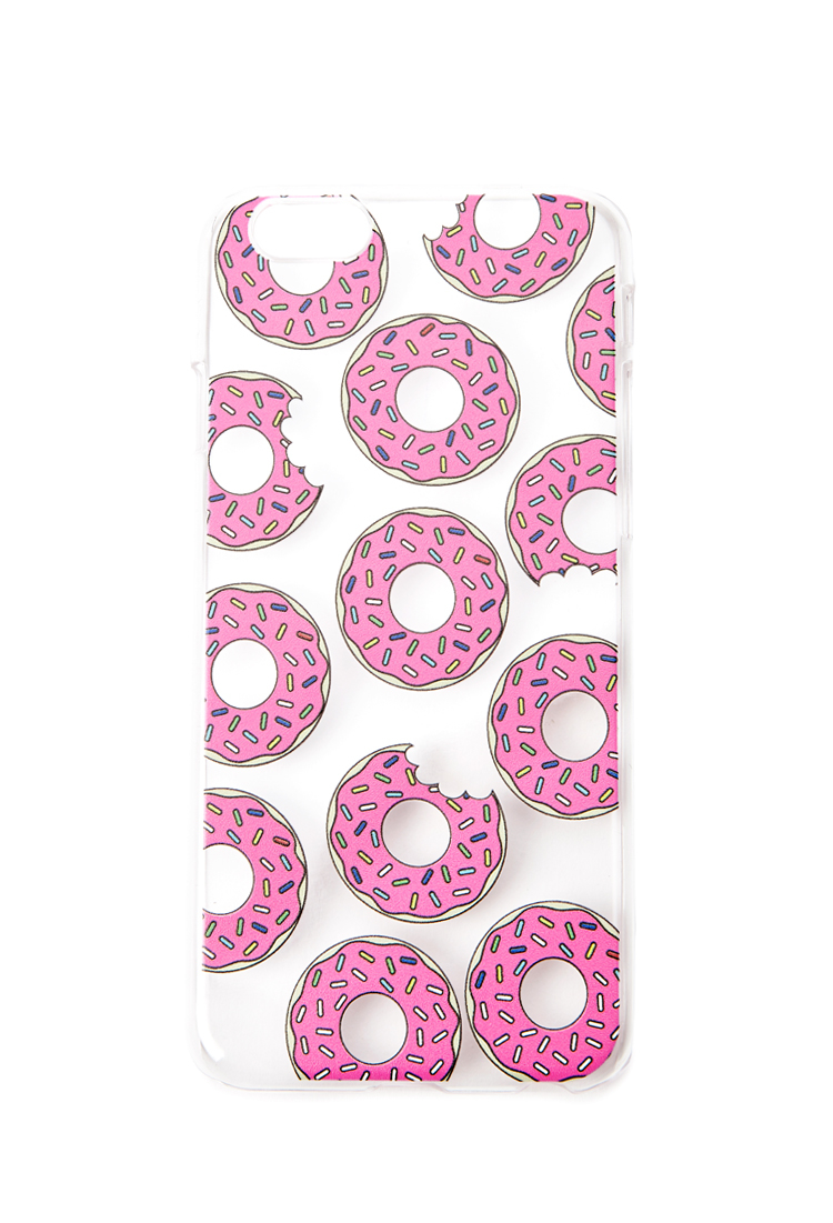 official photos e46cd cc1ae Forever 21 Purple Donut Print Case For Iphone 6