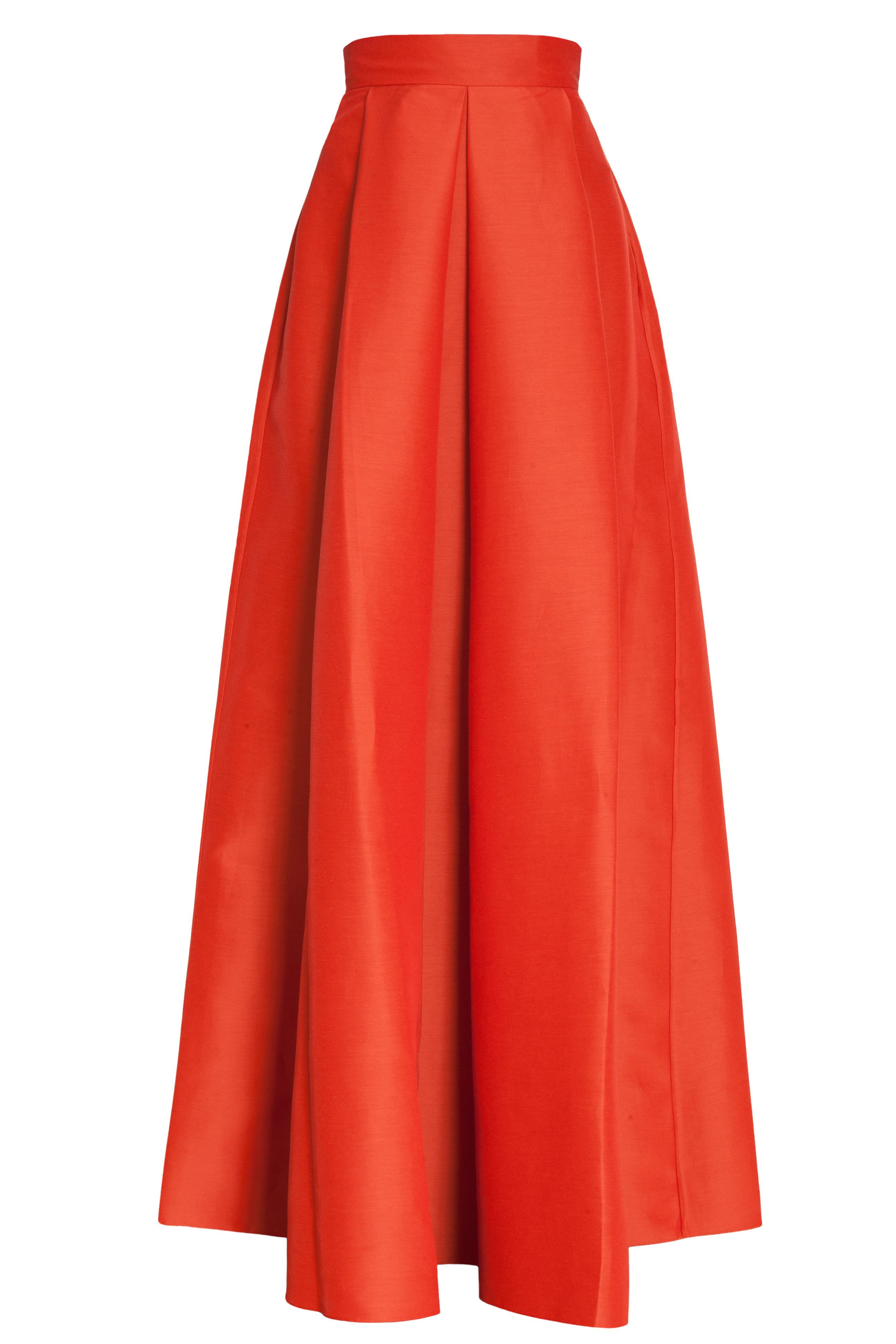 Flared Maxi Skirt - Dress Ala