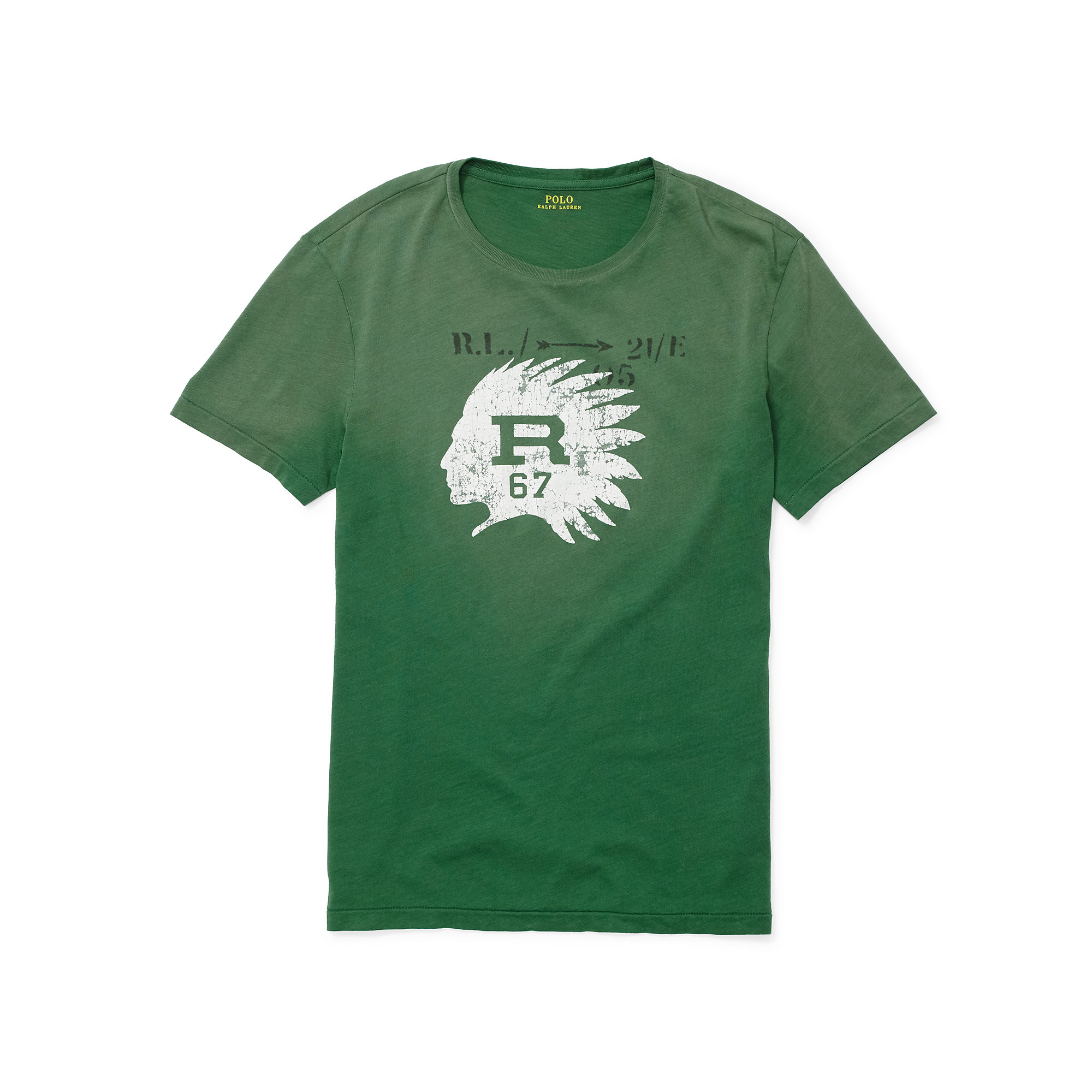 Lyst Polo Ralph Lauren Custom Fit Graphic T Shirt In
