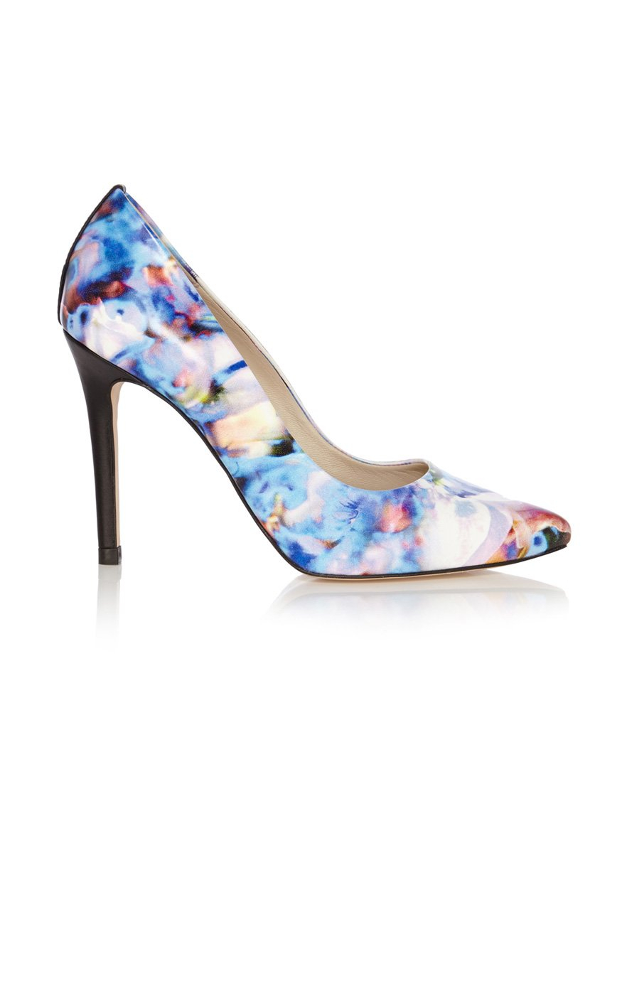 Karen Millen Floral Ankle-Strap Pumps free shipping exclusive cheap sale extremely buy cheap online 2015 new cheap online JZecUE