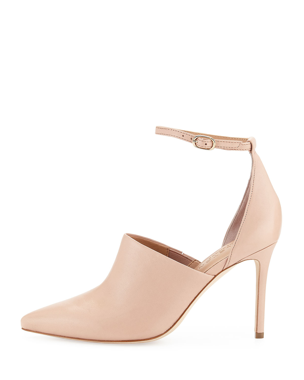 Halston Chloe Leather D Orsay Pump In Pink Lyst