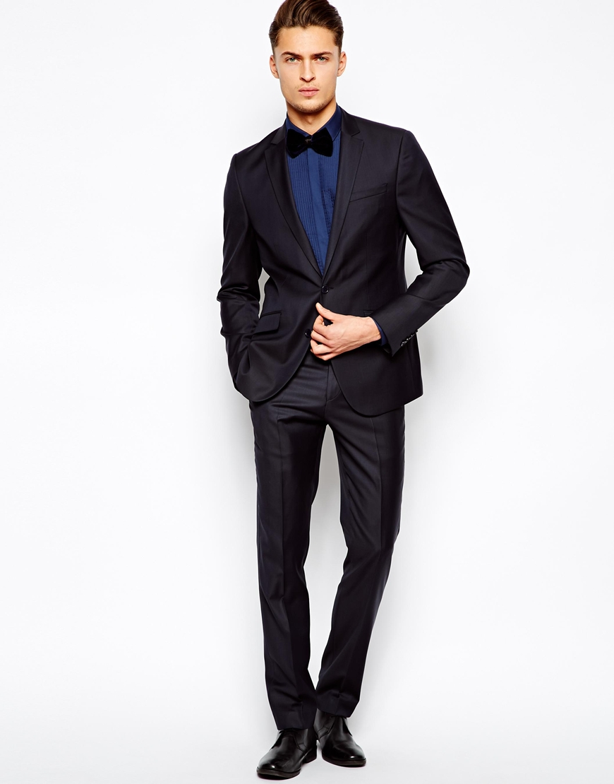 tuxedo with blue shirt wedding tips and inspiration
