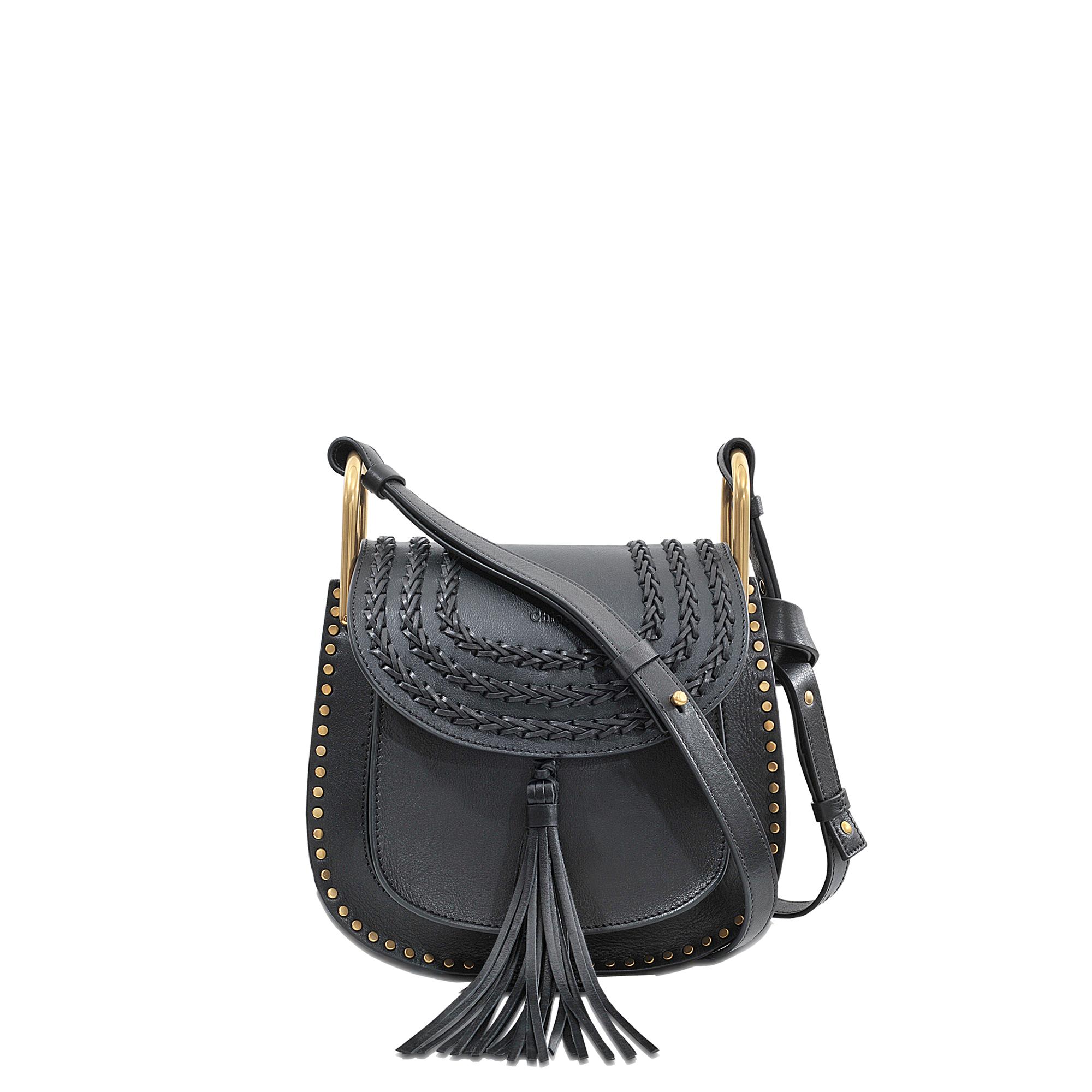 2f061fbb0 Chloé Hudson Small Shoulder Bag in Black - Lyst