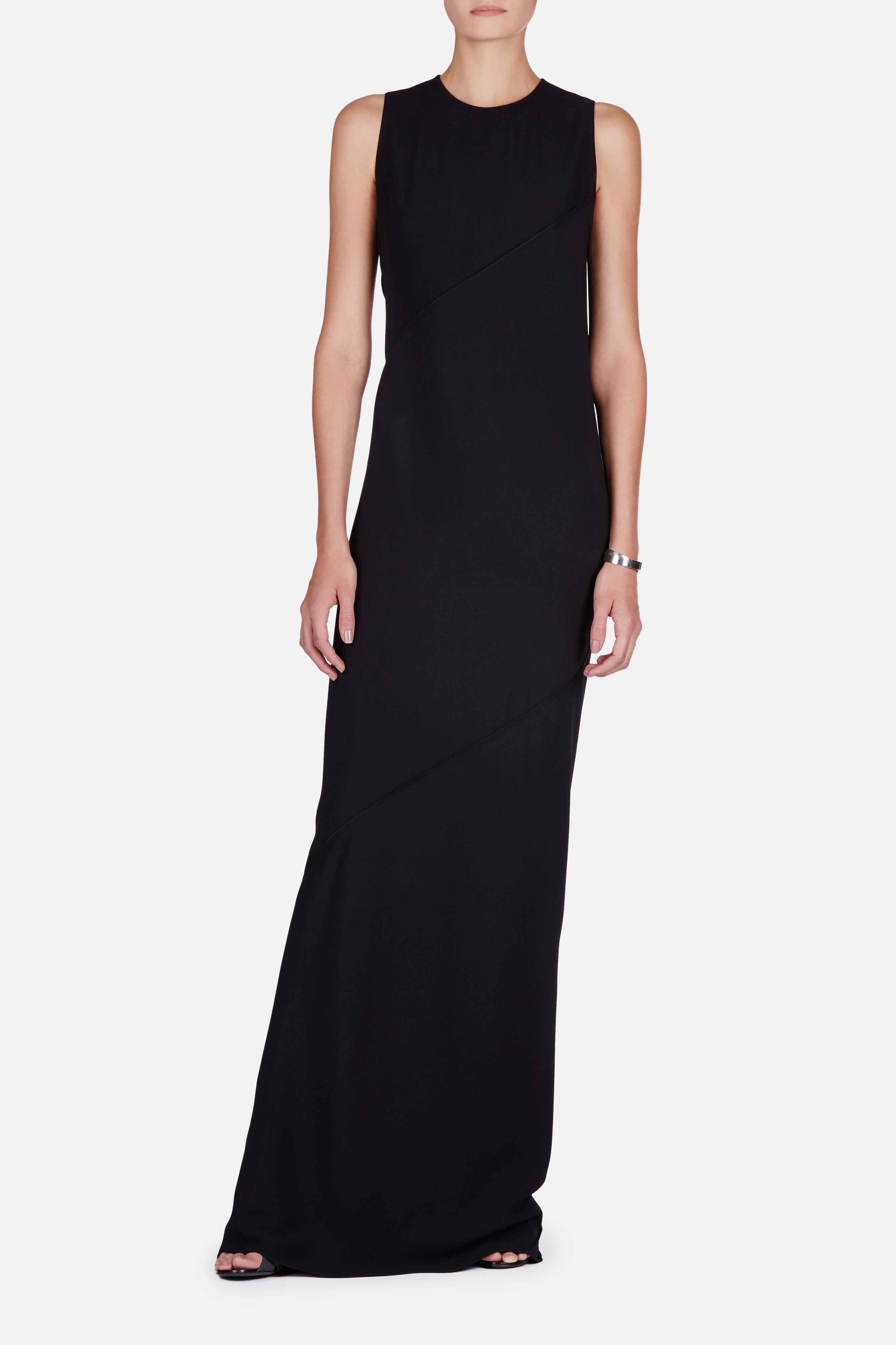 Lyst - Proenza Schouler Sleeveless Long Dress in Black