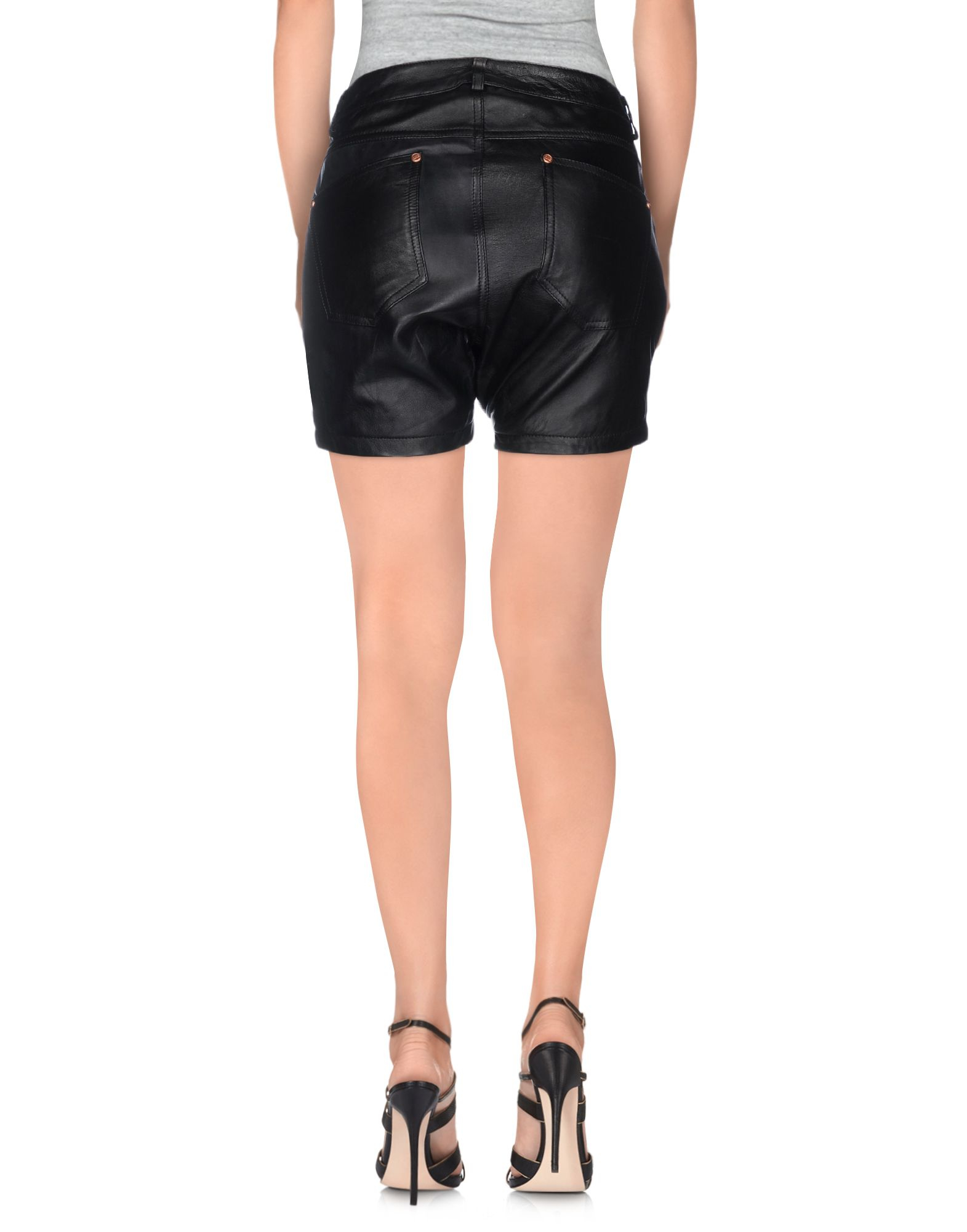 one teaspoon shorts in black lyst. Black Bedroom Furniture Sets. Home Design Ideas
