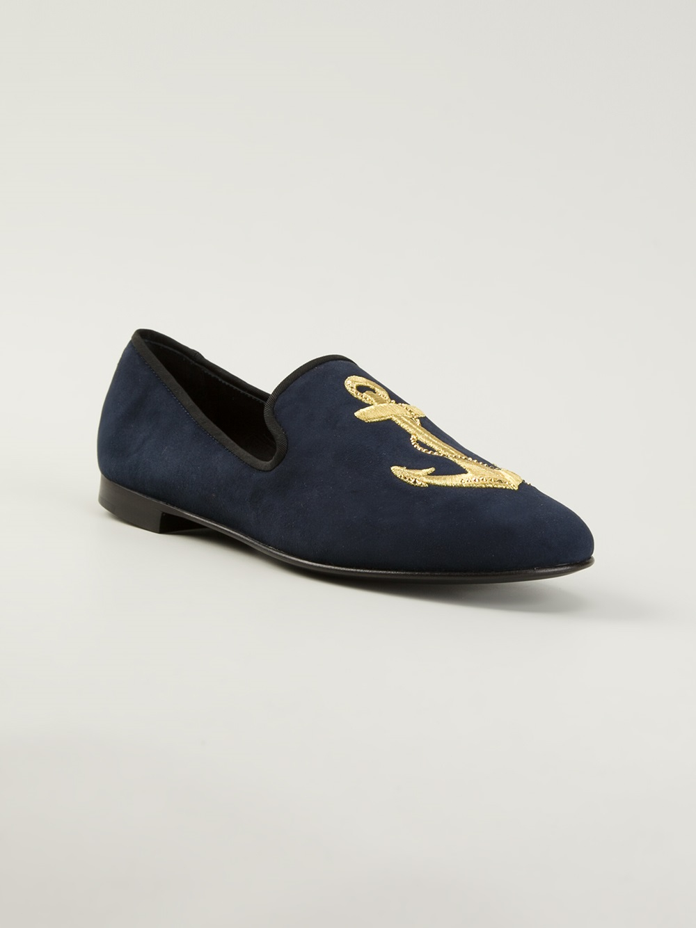 Blue Suede Shoes Brand Slippers