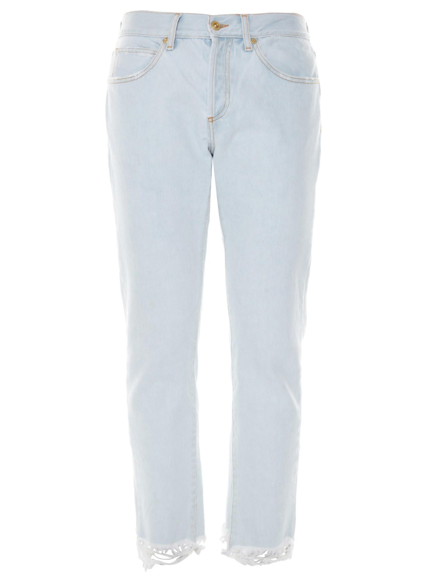 Off-white c/o virgil abloh Slim-leg Cropped Jeans in Blue for Men ...