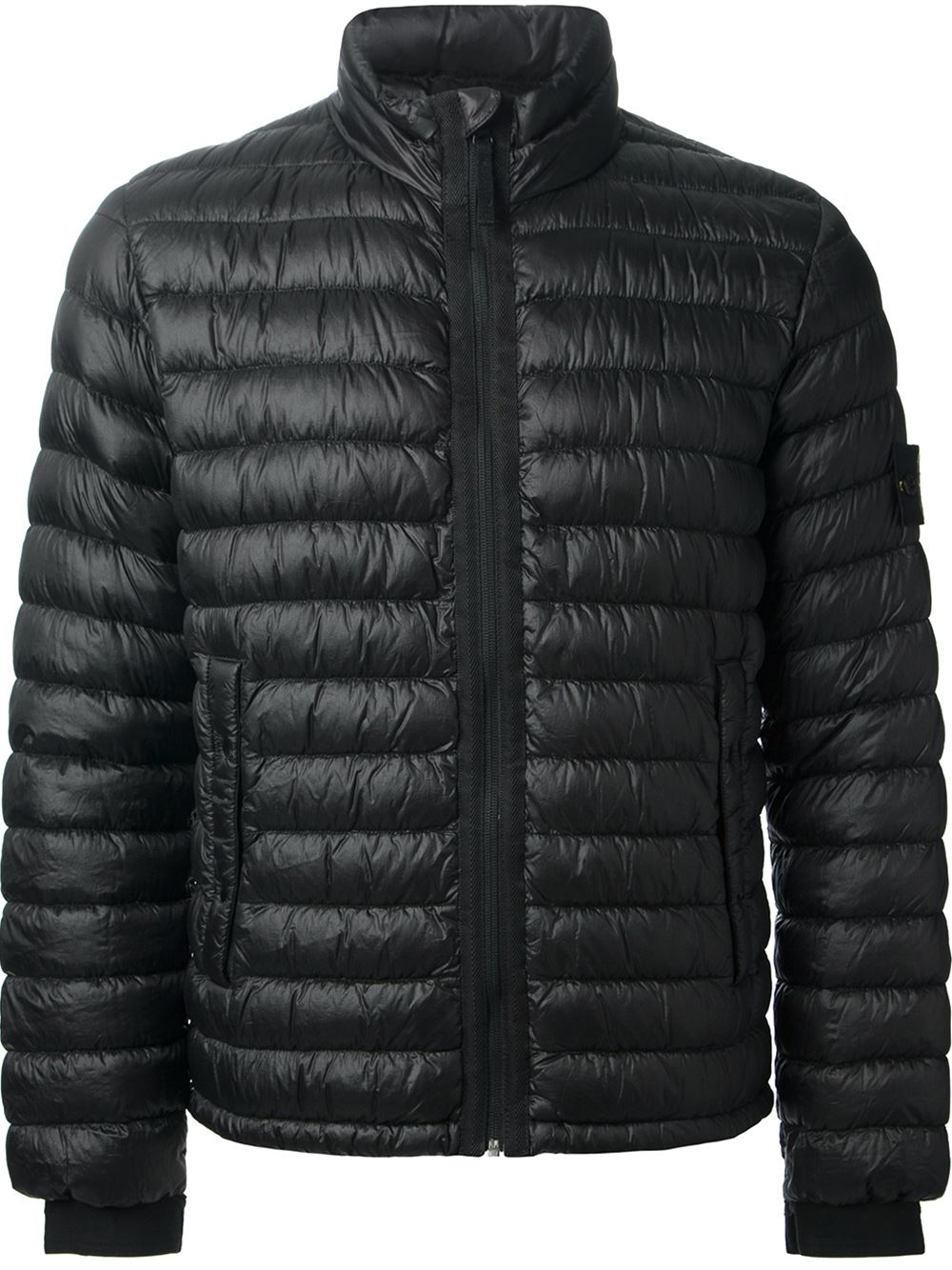 Stone Island Padded Jacket In Black For Men Lyst