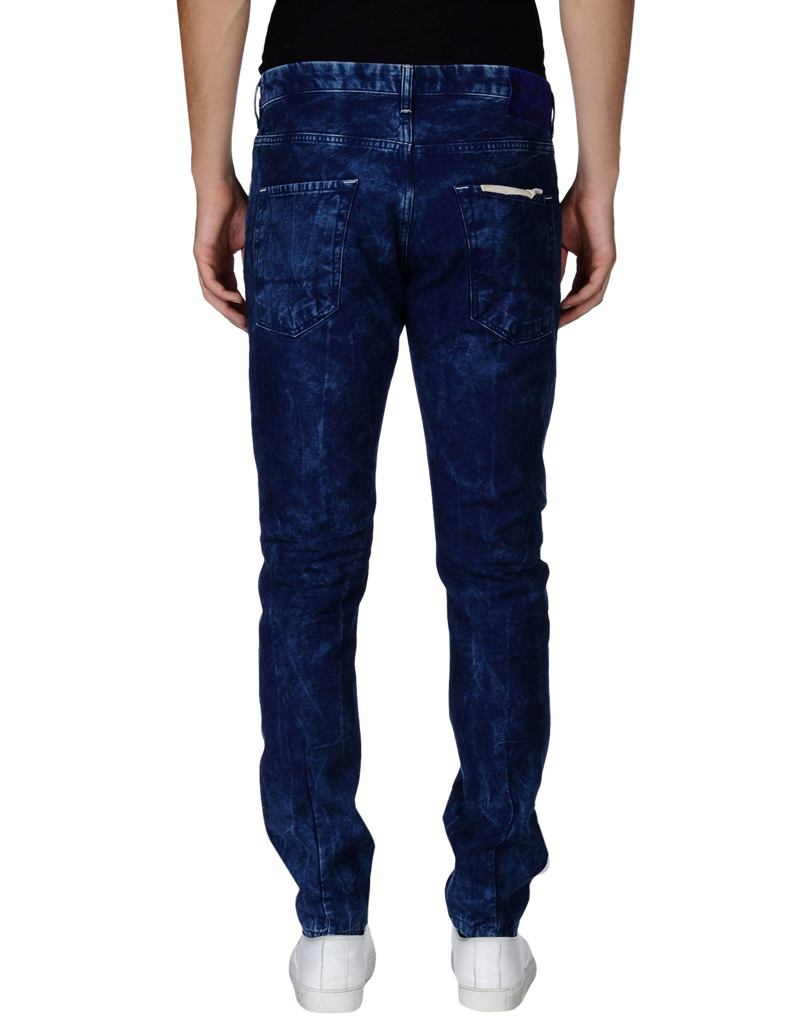scotch soda denim pants in blue for men lyst. Black Bedroom Furniture Sets. Home Design Ideas