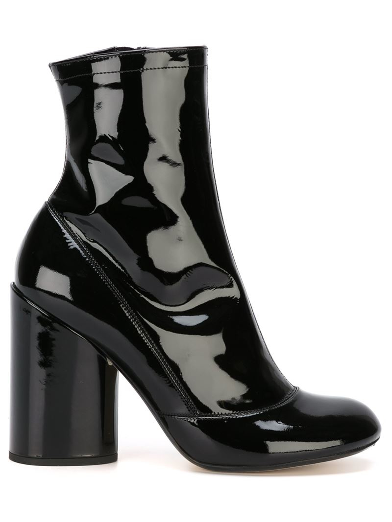 Leather plateau ankle boots Marc Jacobs MDFyJIghCz