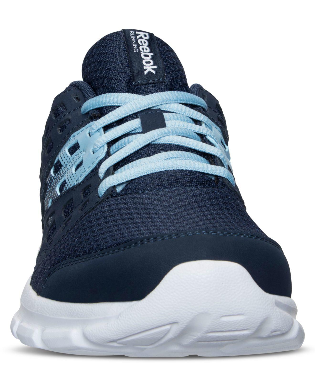 d5e904f62bde71 Lyst - Reebok Women s Speed Rise Running Sneakers From Finish Line in Blue