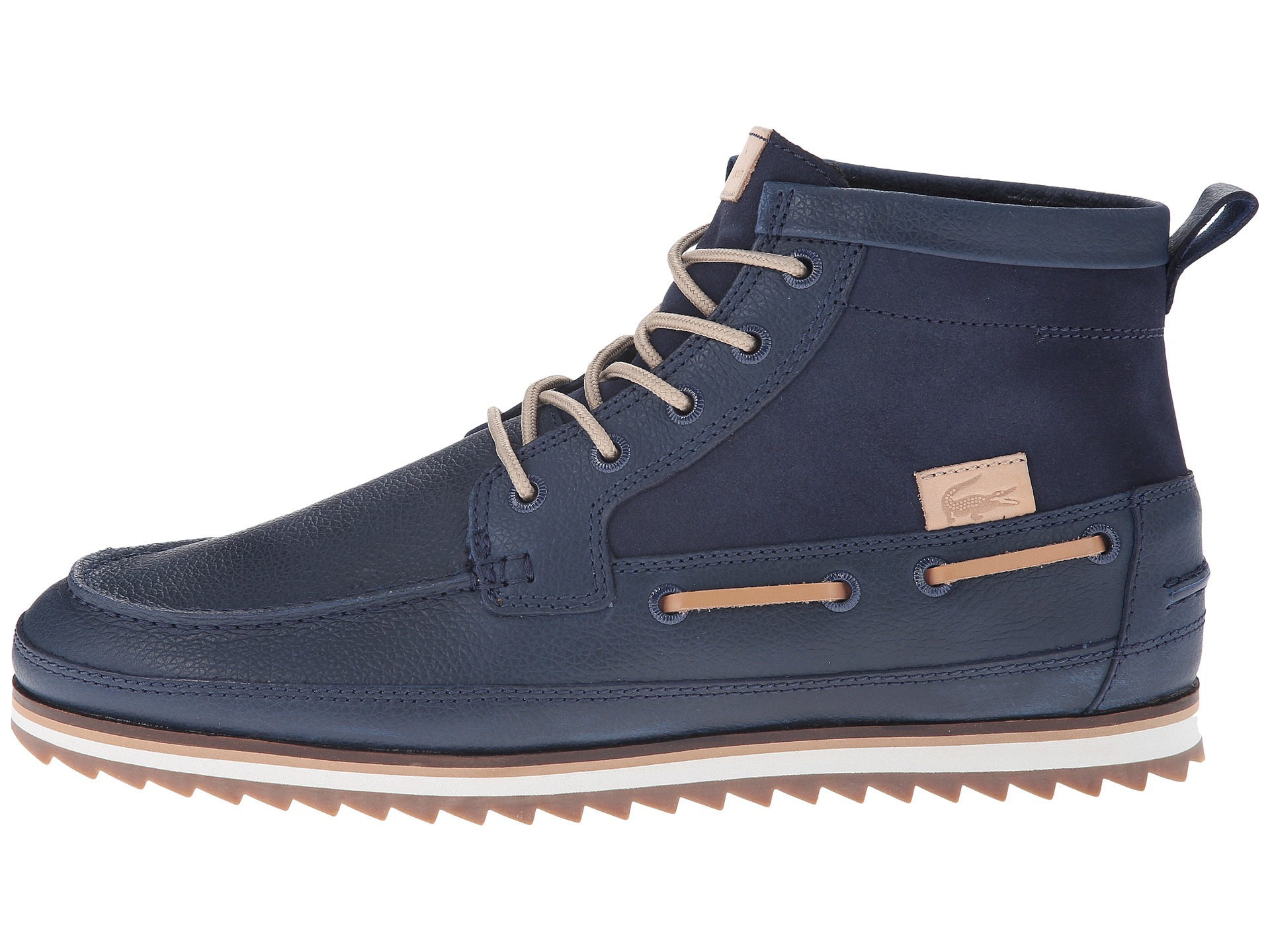 64207aa9d13 Lacoste Blue Sauville Mid 8 for men