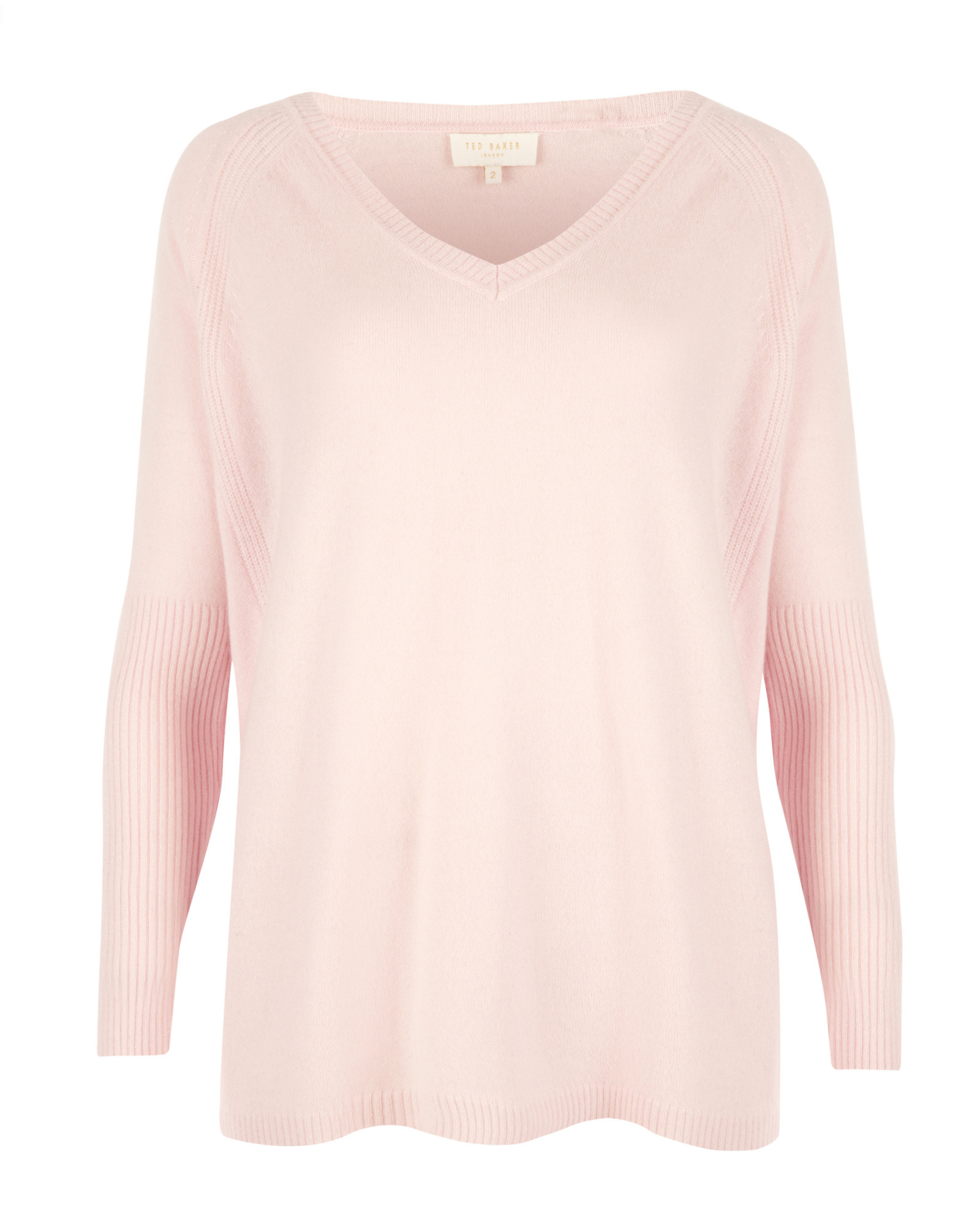 Ted baker Cashmere Sweater in Pink | Lyst