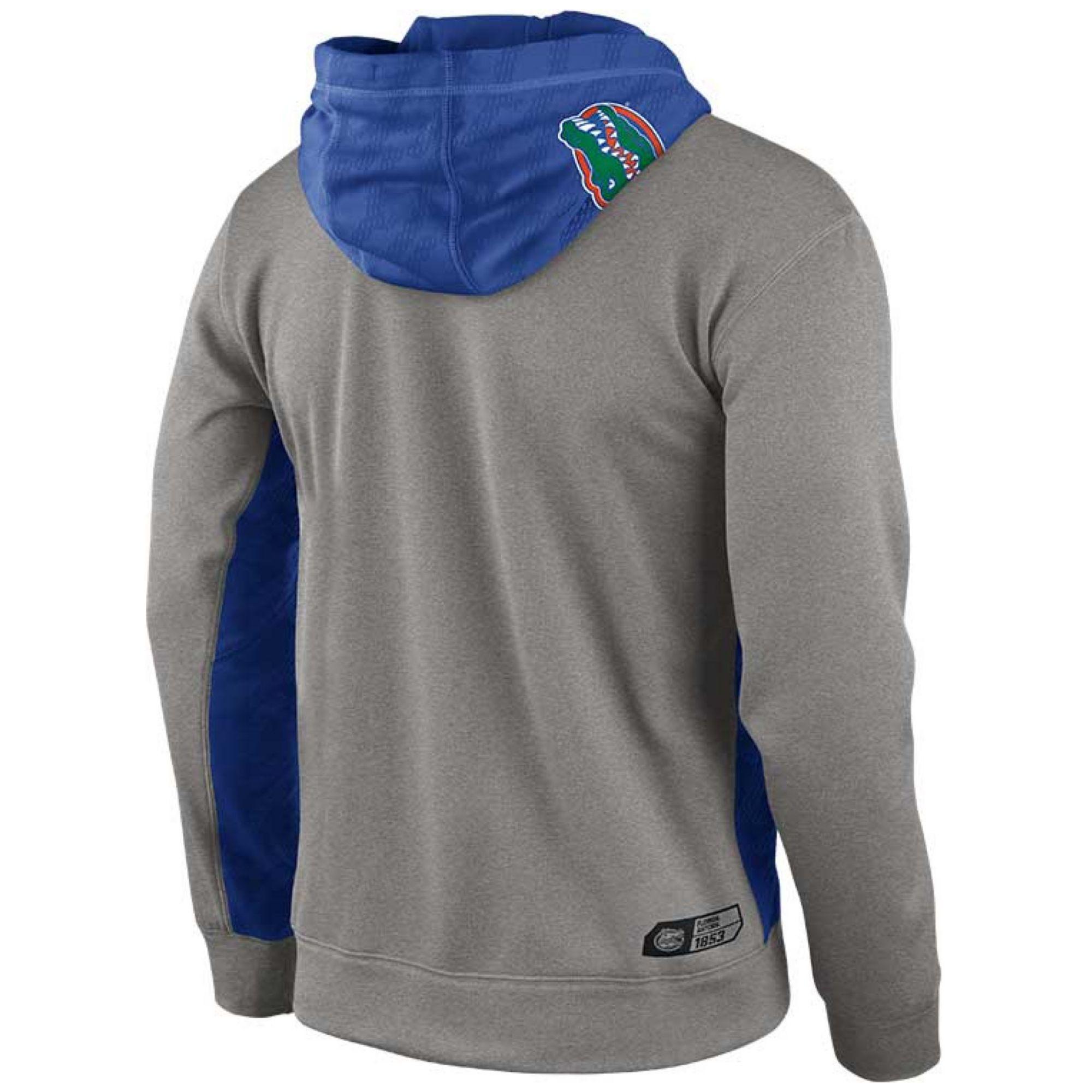 promo code b2f2c 5aa5f Nike Mens Florida Gators Thermafit Hoodie Sweatshirt in Gray for Men ...