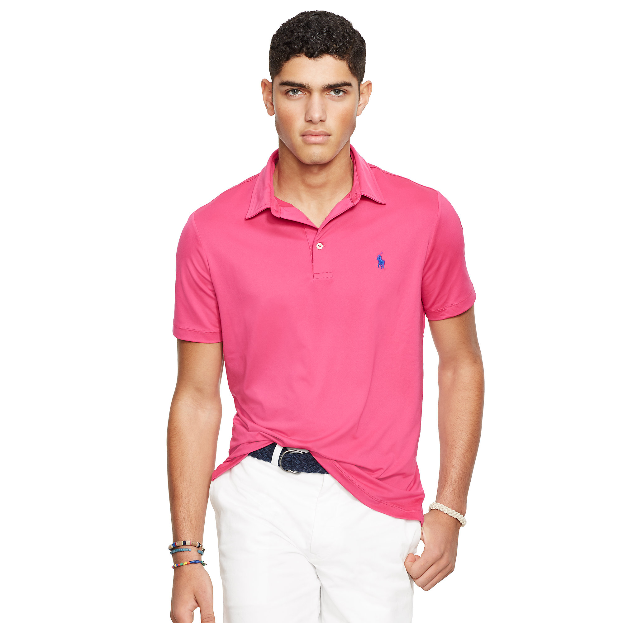 Lyst Polo Ralph Lauren Custom Fit Performance Polo In