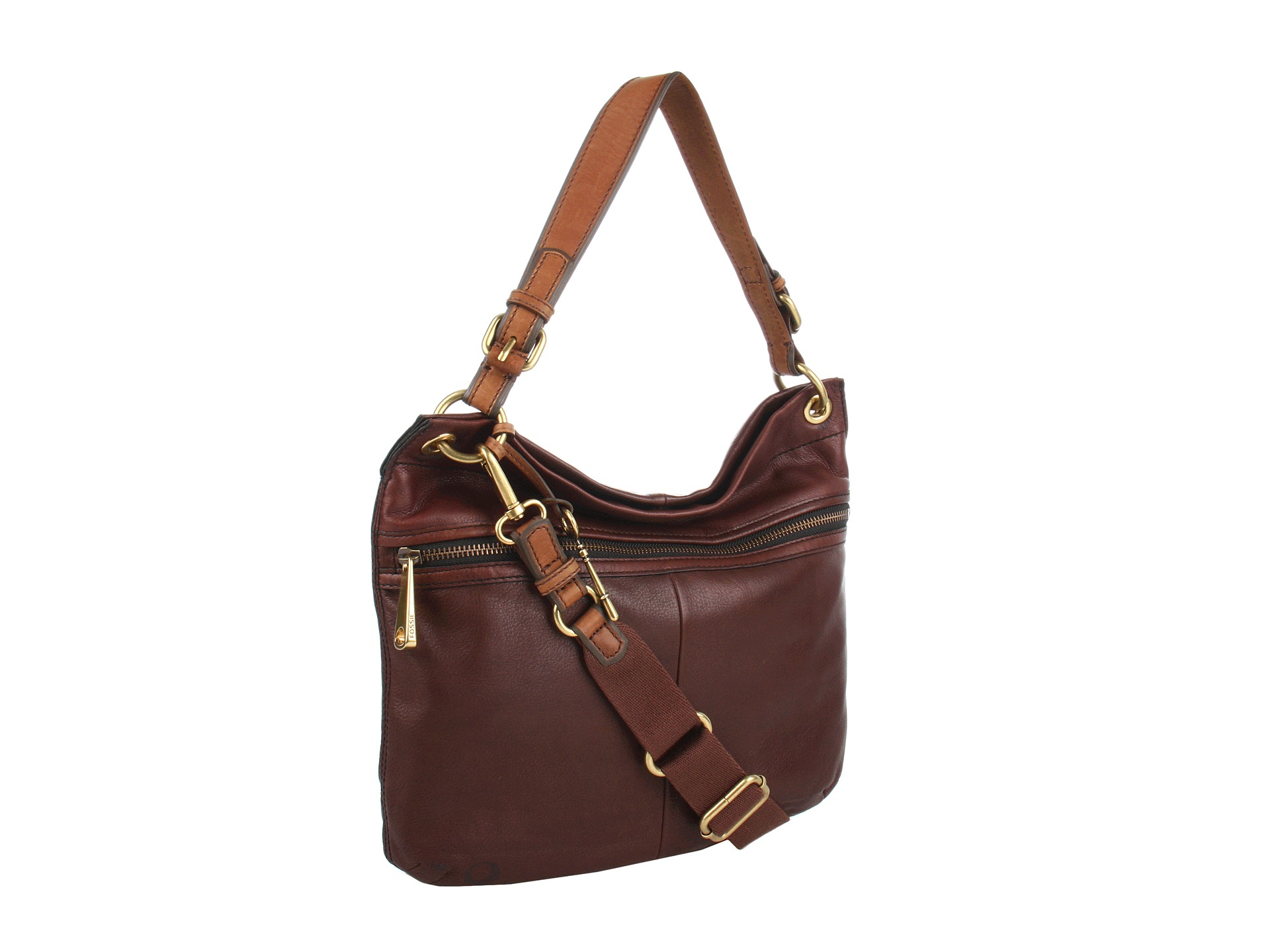 Fossil Explorer Hobo in Brown | Lyst