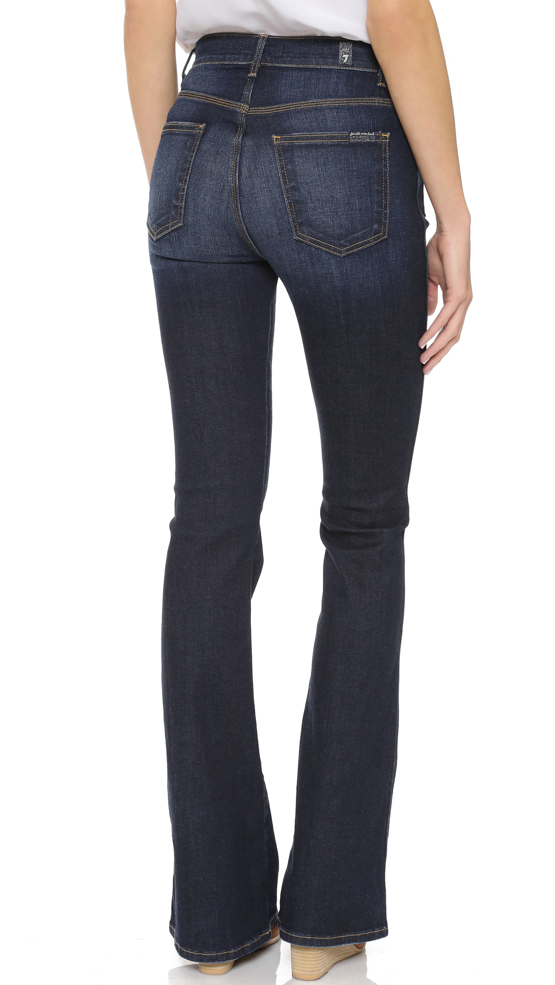 7 for all mankind Vintage Trouser Jeans - Vintage Runway Denim in ...