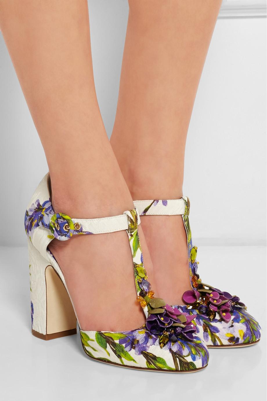 Dolce & Gabbana Brocade pumps BNukPtlIBd