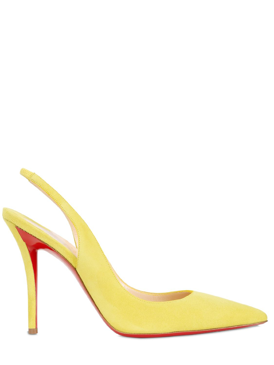 christian louboutin men shoes - christian louboutin leather plexi wedge slingback pumps - Bavilon ...