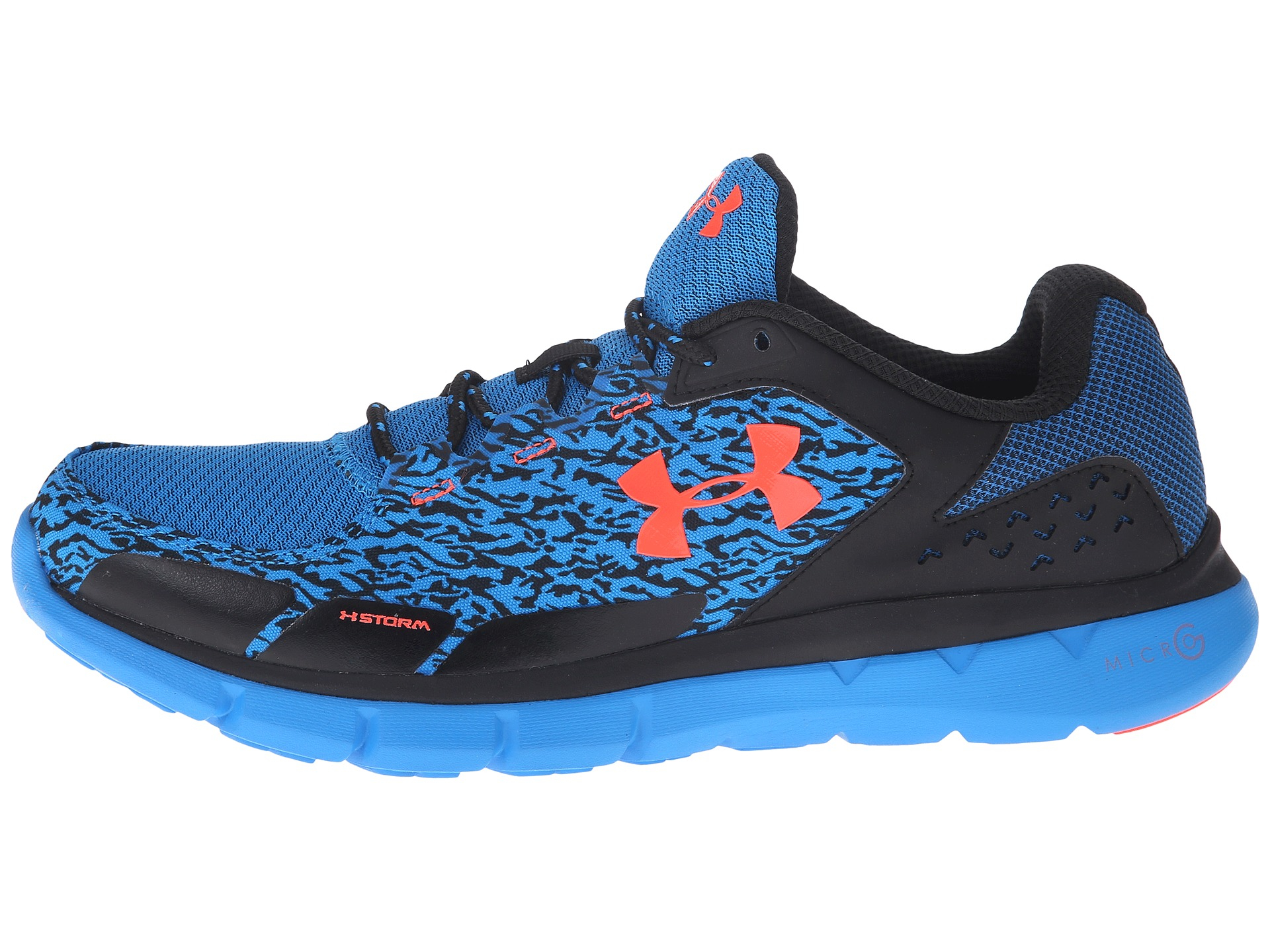 Lyst - Under Armour Ua Micro G™ Velocity Rn Storm® in Blue for Men 168a809c5decf