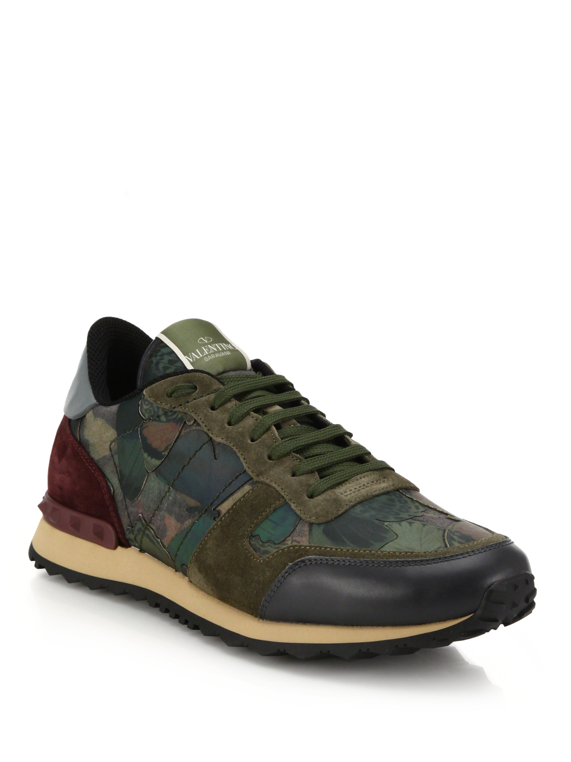 valentino camo sneakers 28 images valentino garavani rockrunner camouflage sneakers in. Black Bedroom Furniture Sets. Home Design Ideas