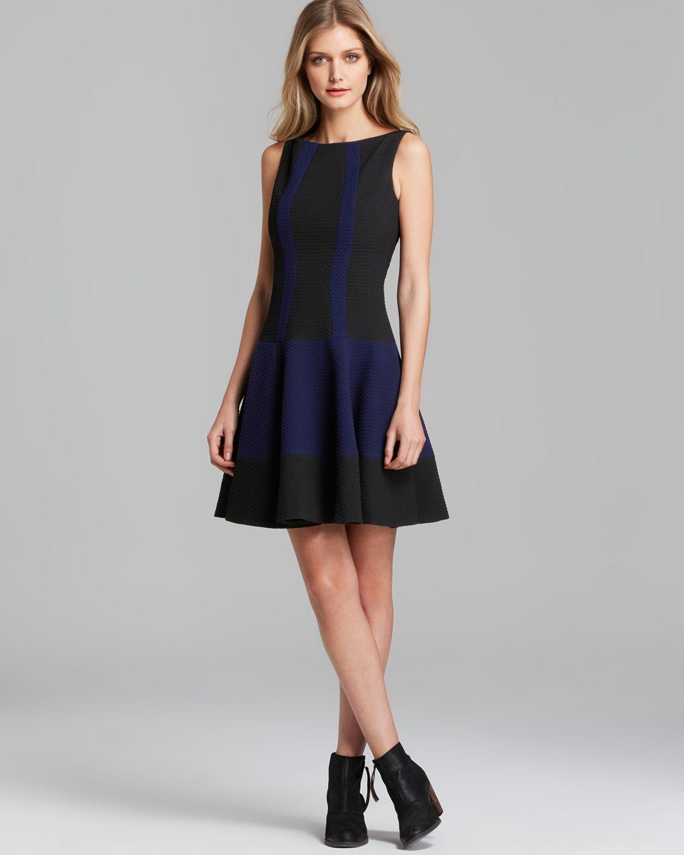 Nanette lepore Dress West Coast Get Around in Black  Lyst