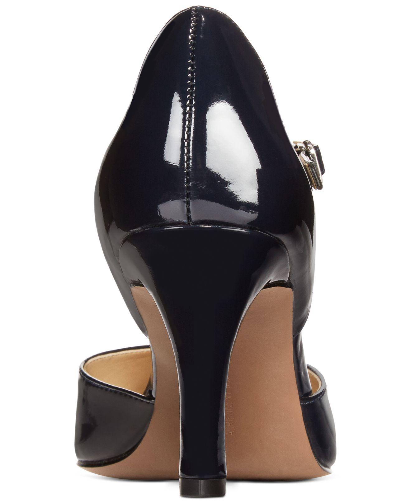 David Belin Blue Patent Leather Shoes