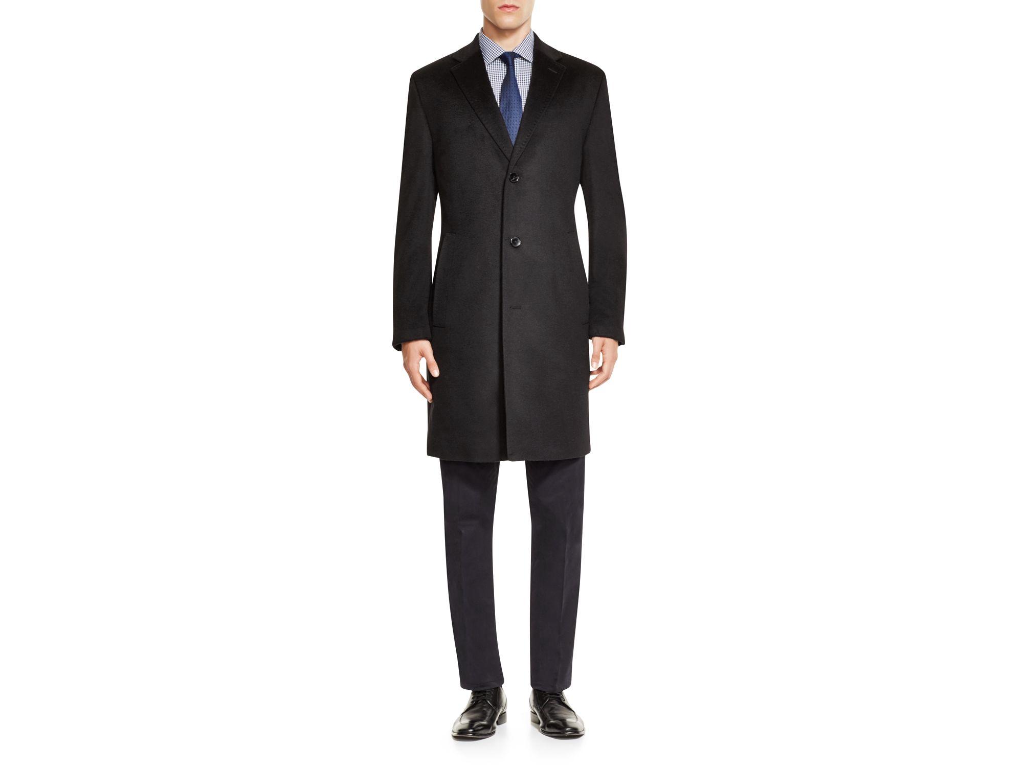 hugo boss stratus coat