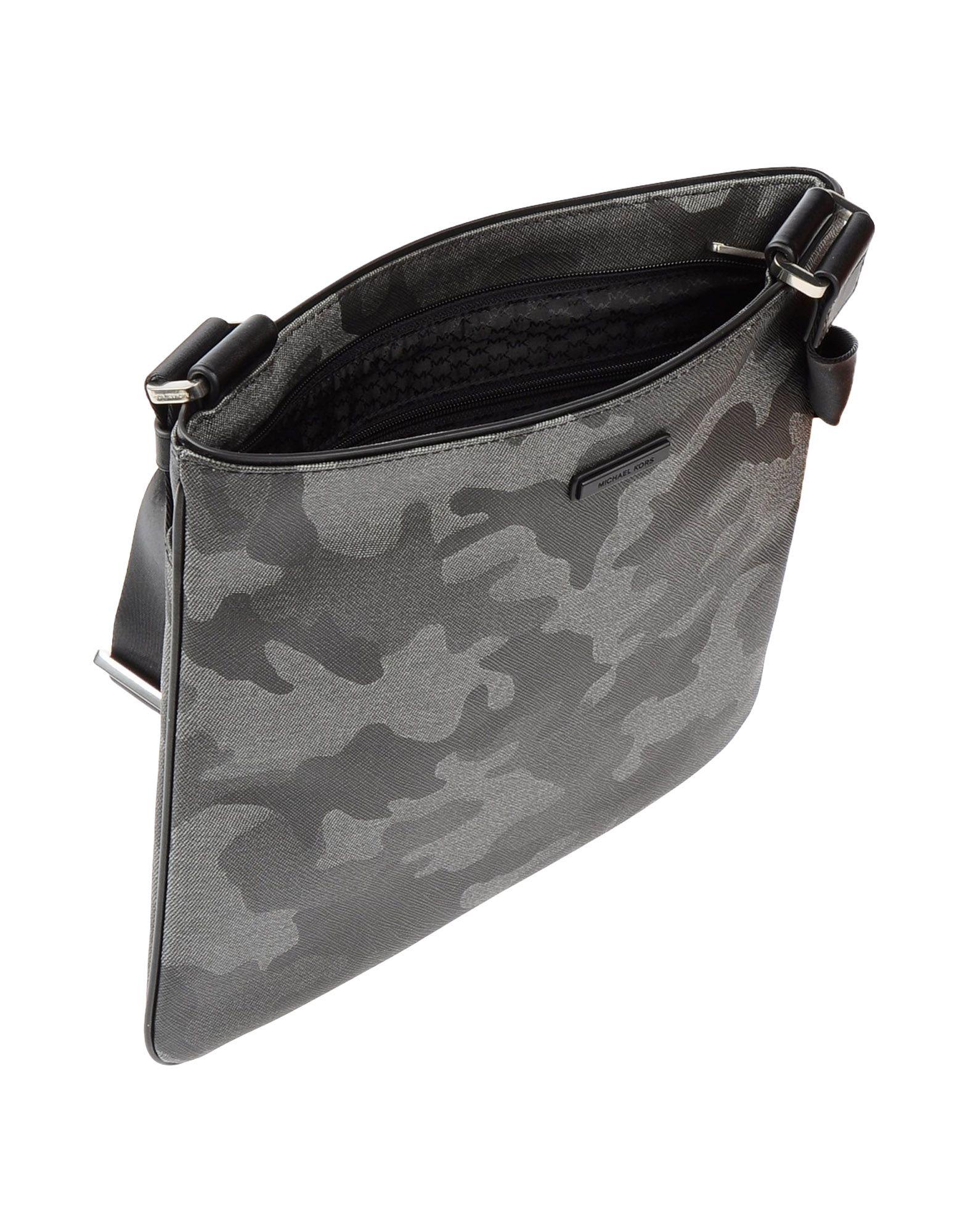 f858e4f7725a Lyst - Michael Kors Cross-body Bag in Gray for Men