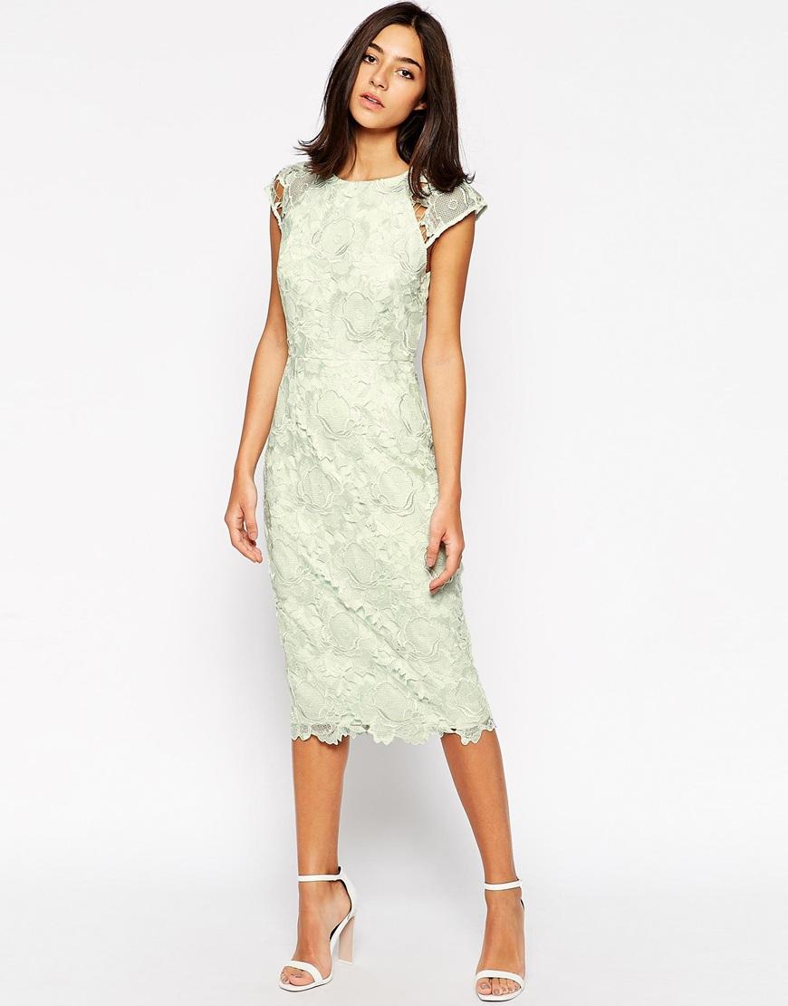 lace midi dress - photo #19