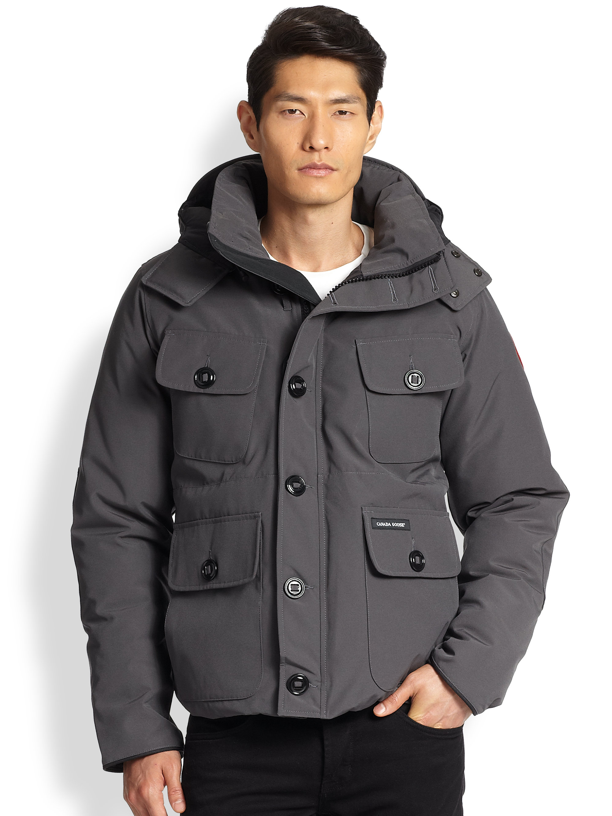 Canada Goose expedition parka sale store - Canada goose Selkirk Puffer Parka in Gray for Men (GREY) | Lyst