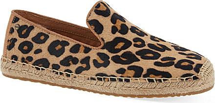 ugg espadrilles leopard print