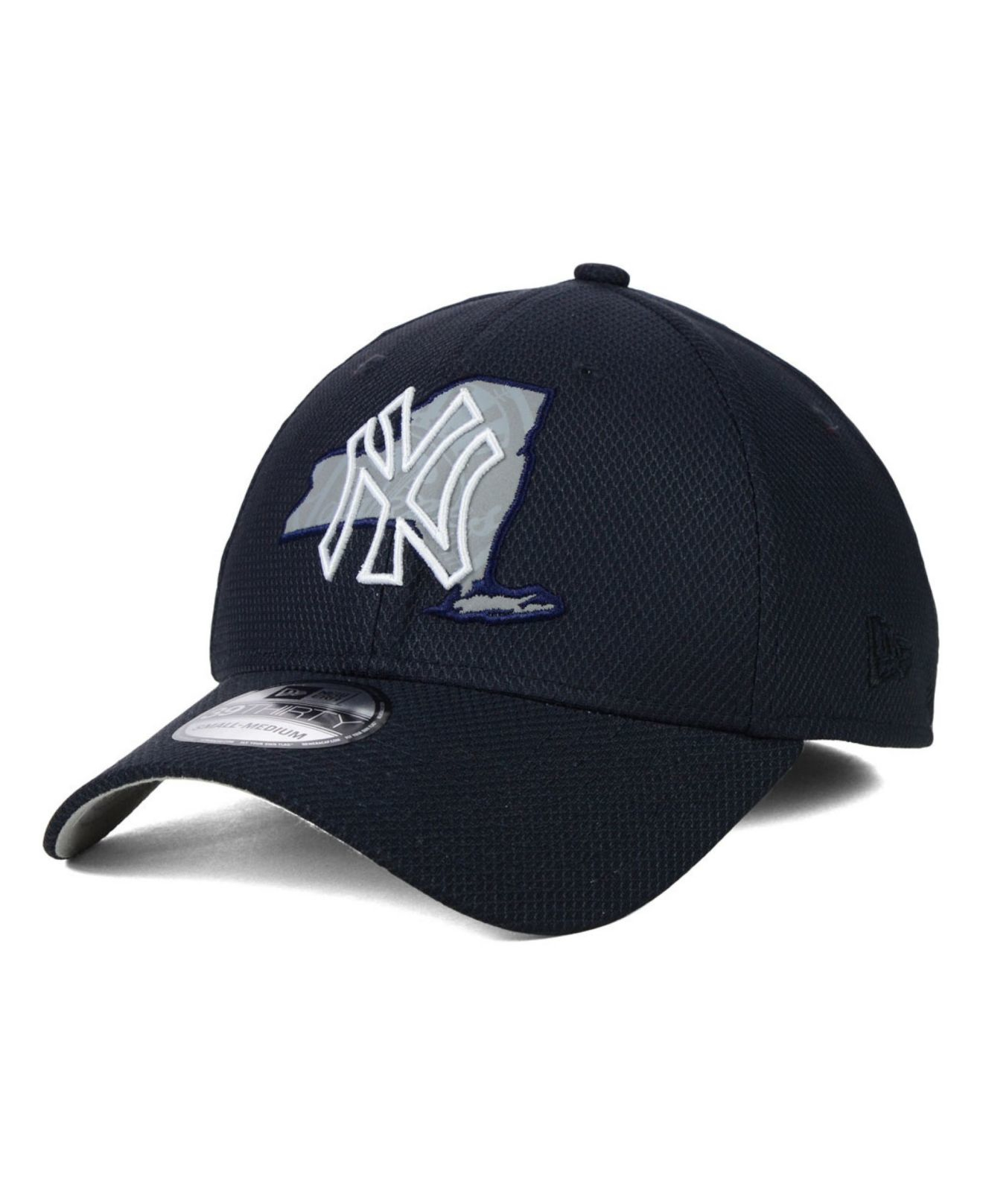 fabe95d2593 ... switzerland lyst ktz new york yankees state flective 39thirty cap in  blue for men 53a87 07b36