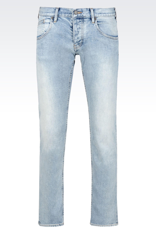 Light Wash Skinny Jeans Mens