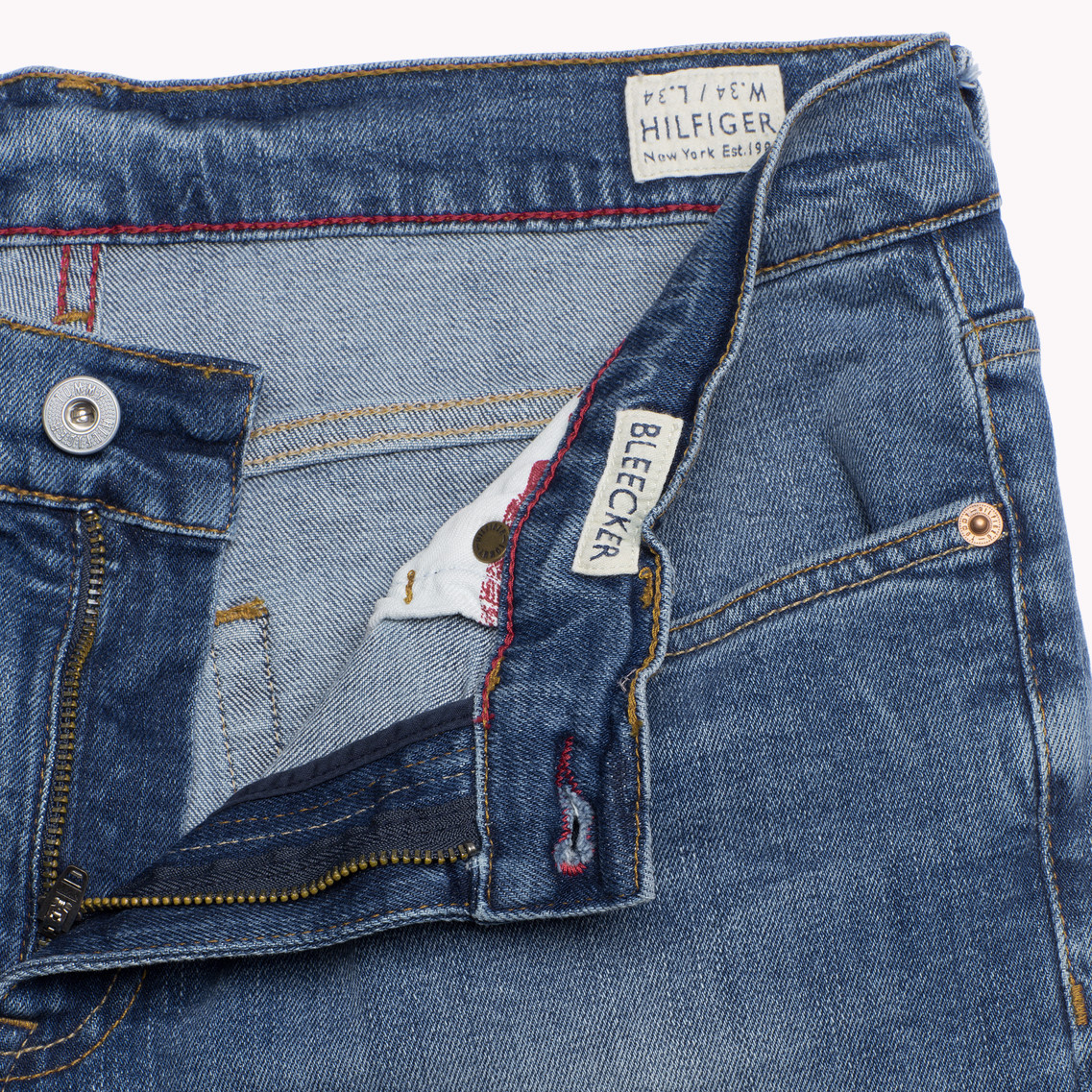 bfa24c07 Tommy Hilfiger Bleecker Slim Fit Jeans in Blue for Men - Lyst