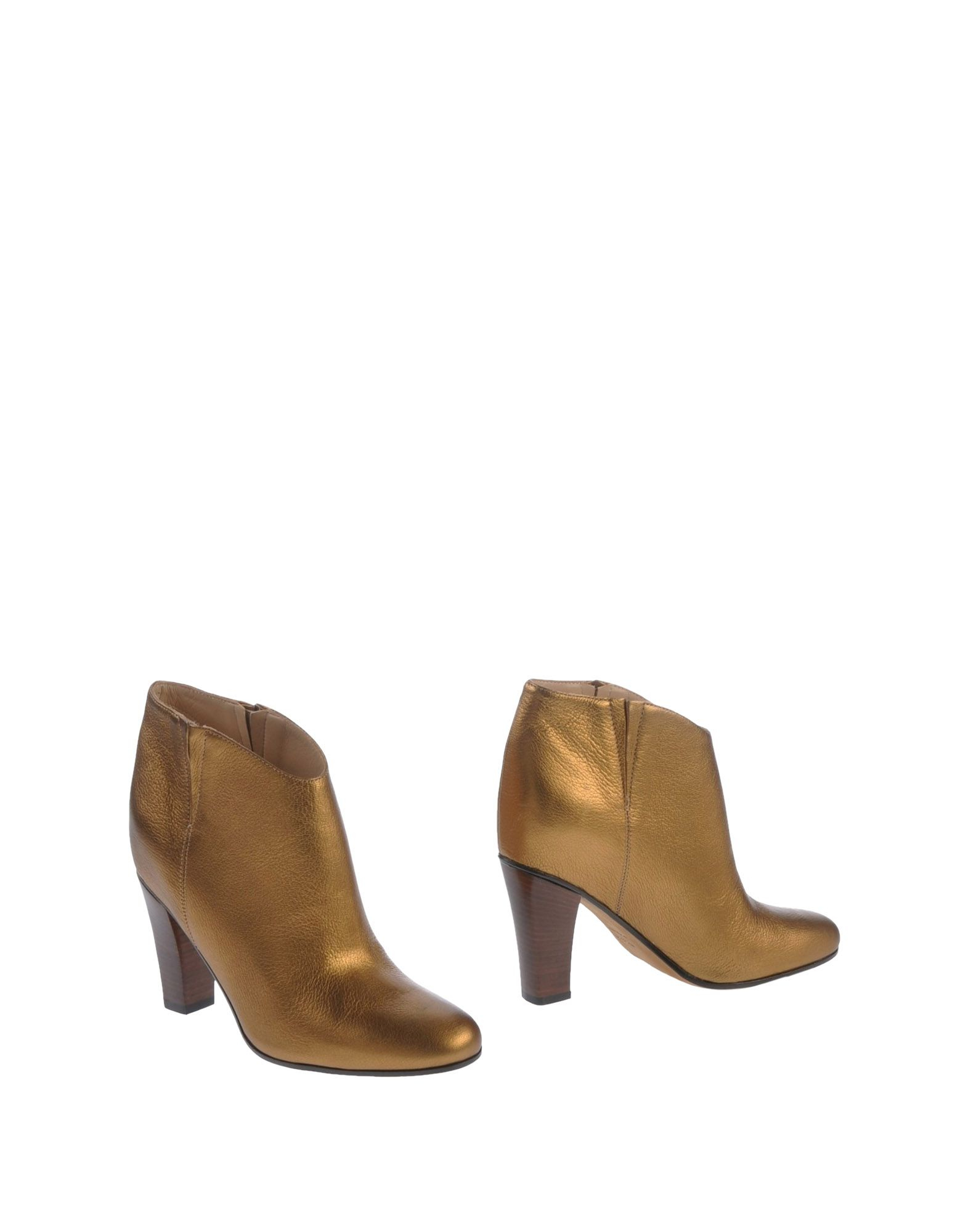golden goose deluxe brand ankle boots in gold save 61