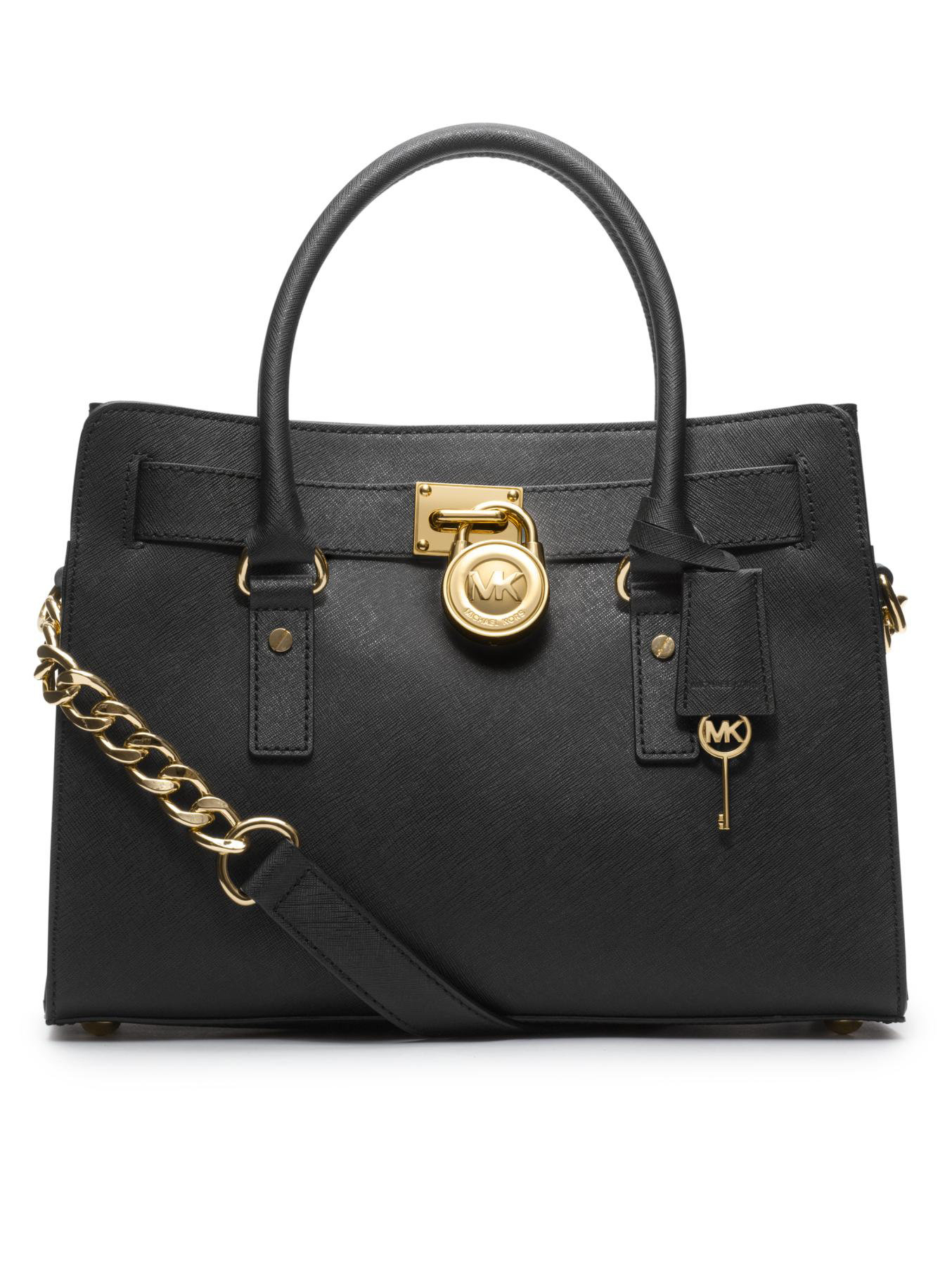 Michael Kors Hamilton Laukku : Michael kors hamilton saffiano leather satchel in
