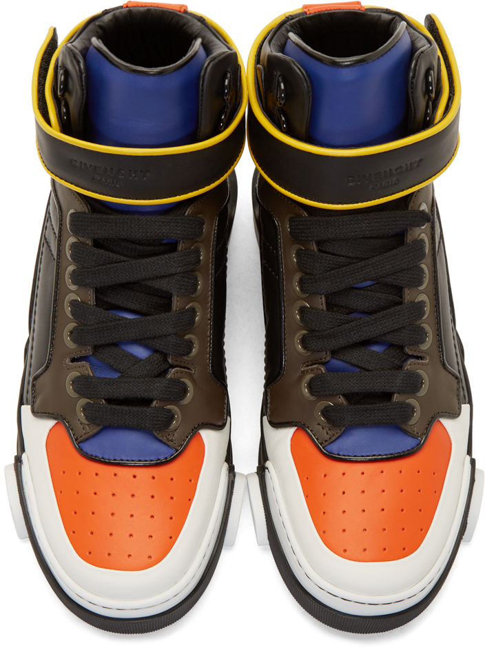 a02878632e8 Givenchy Multicolor Tyson High_top Sneakers for men
