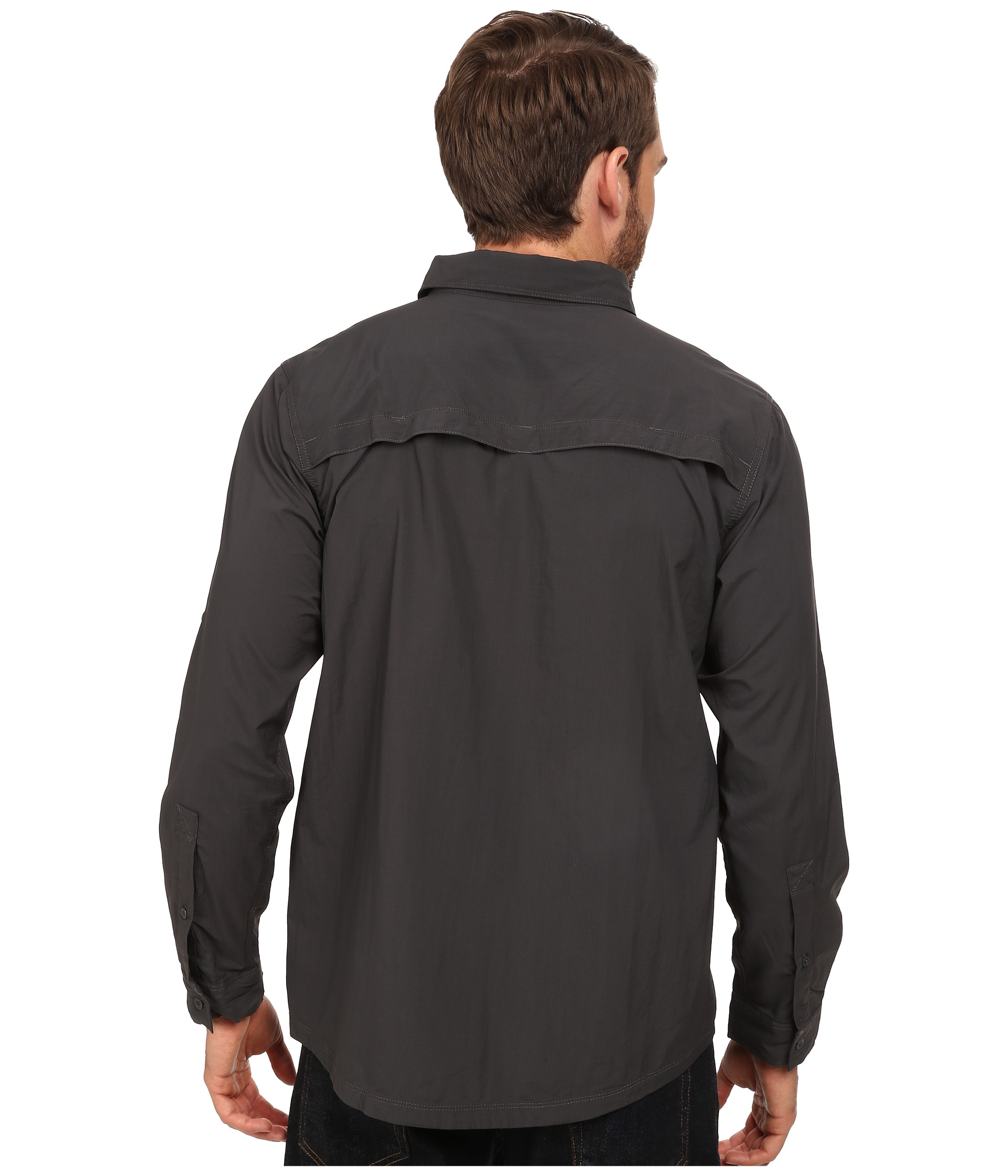 19eaabc545f Lyst - The North Face Long Sleeve Cool Horizon Shirt in Gray