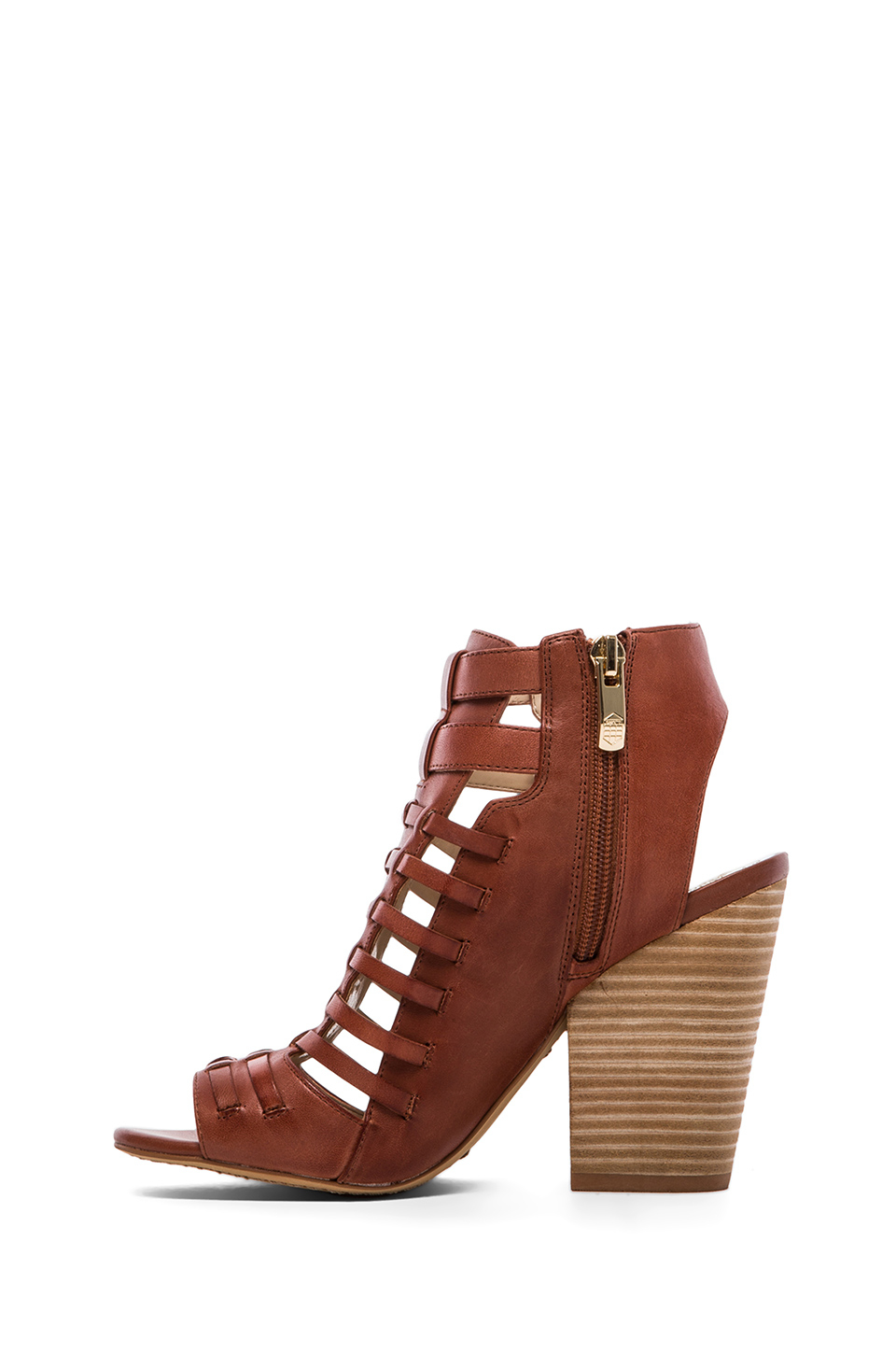 Vince Camuto Medow Sandal In Brick Red Lyst
