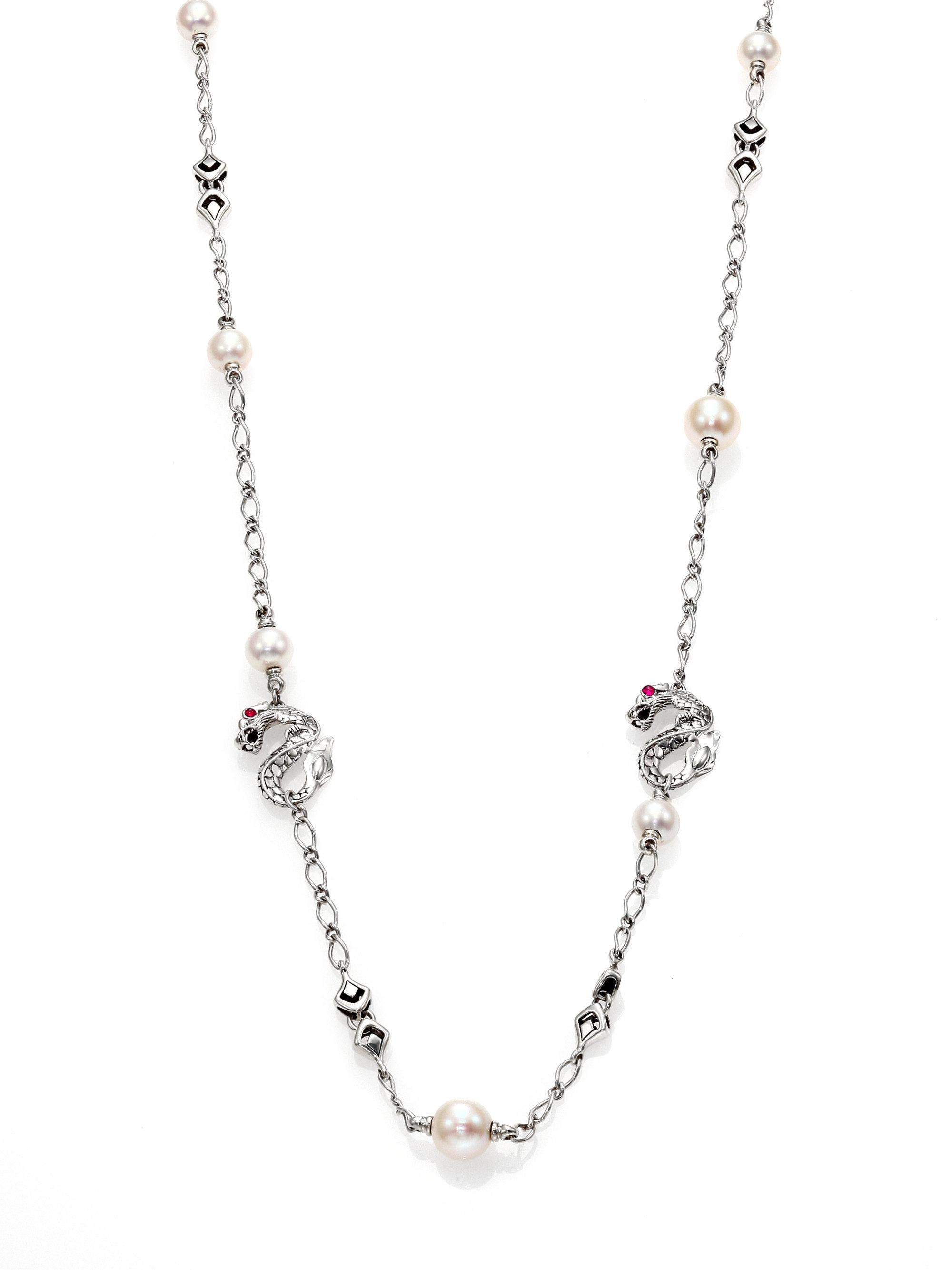 JEWELLERY - Necklaces John & Pearl 5jWb8ST