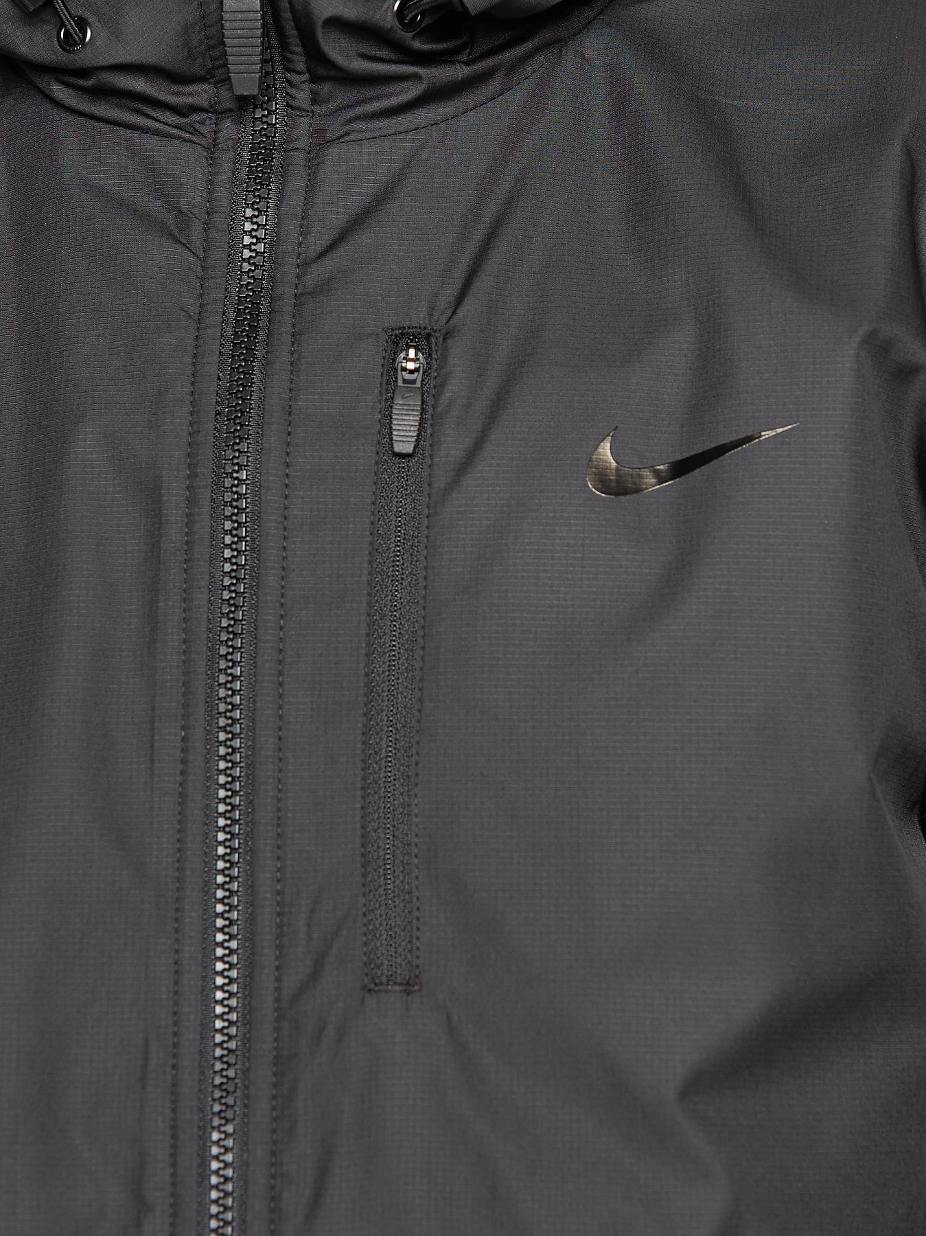 nike mens alliance fleece lined jacket in black for men lyst. Black Bedroom Furniture Sets. Home Design Ideas