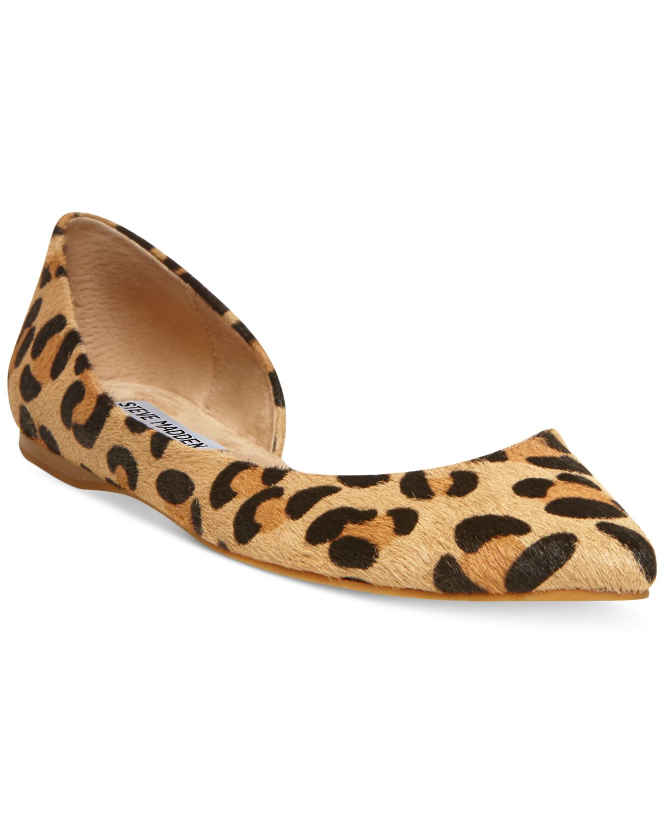 73d40ed3dd0 Lyst - Steve Madden Elusion D'Orsay Flats in Brown