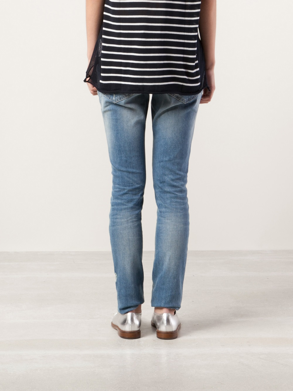 Closed Marlow Skinny Jeans in Blue